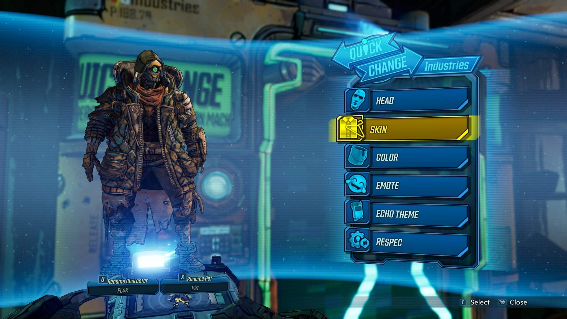 Borderlands 3 Character Customization: Character Skins, How to Change Appearance