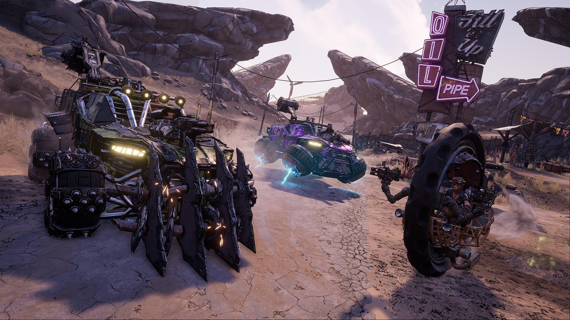 Borderlands 3 Vehicles: How to Get Your First Vehicle, Vehicles Upgrade Locations