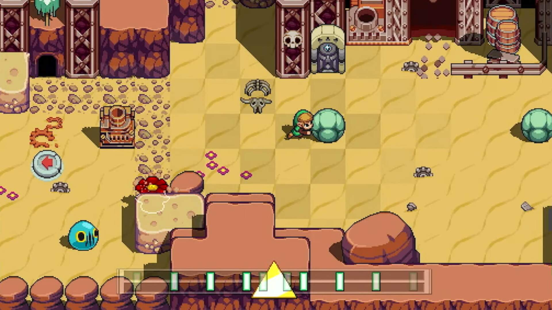 Zelda Crossover Rhythm Game Cadence of Hyrule is Coming in June