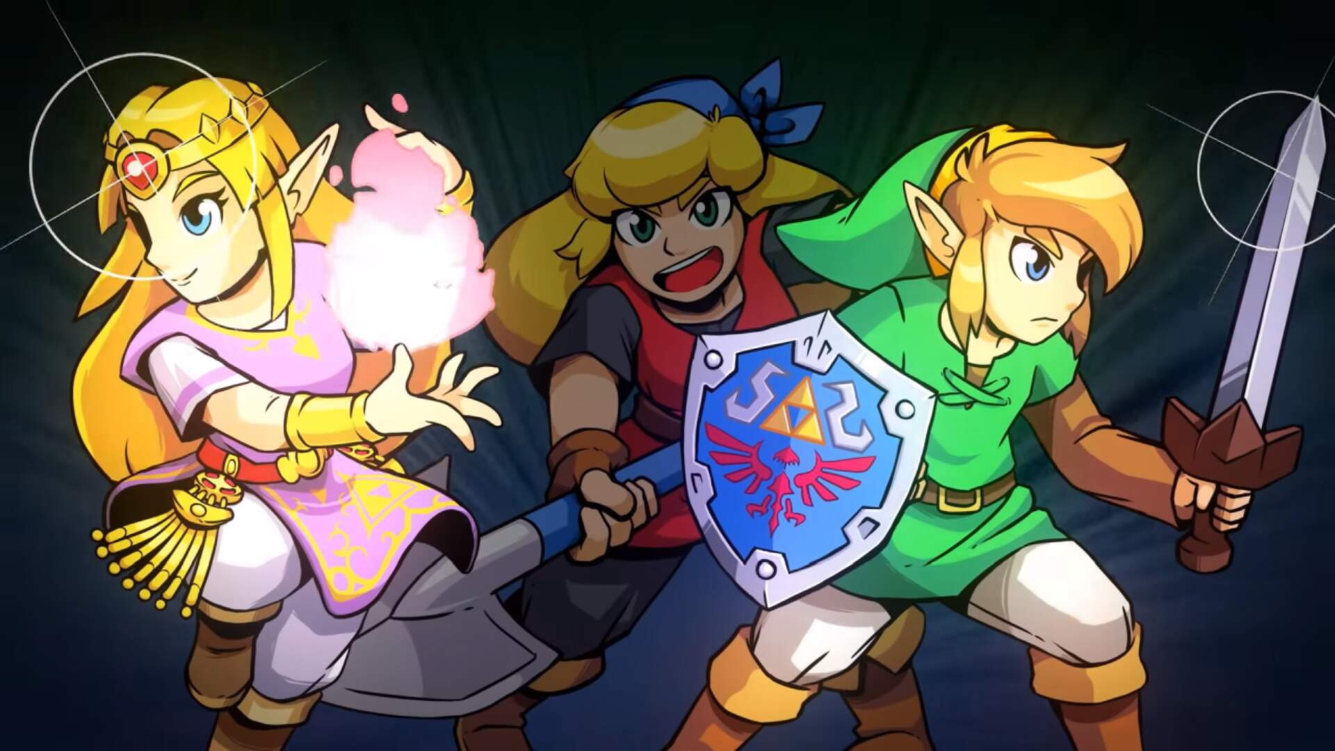 Cadence Of Hyrule Fast Travel How To Fast Travel Using The Lute In Cadence Of Hyrule Usgamer