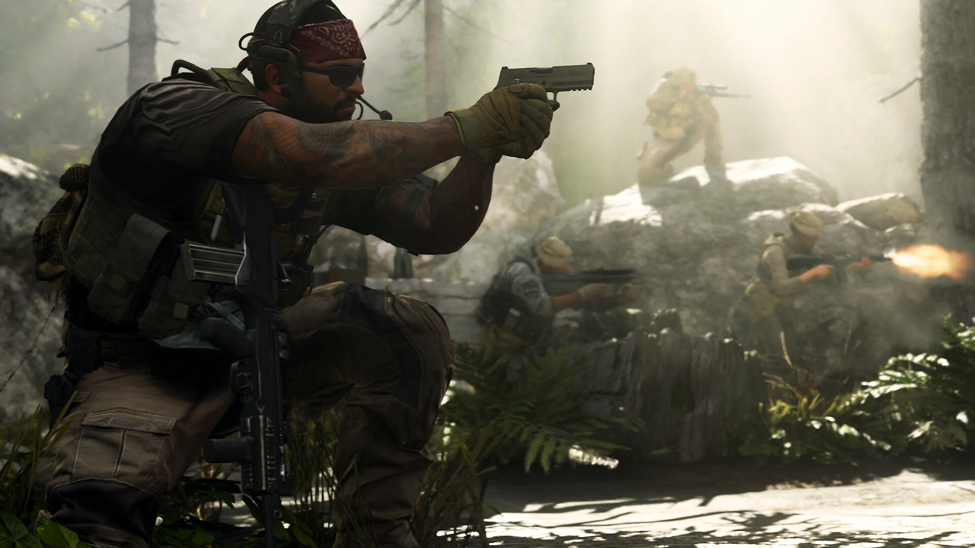 Call of Duty: Modern Warfare Won't Be Going Too Crazy With Colorful Cosmetics, Say Devs