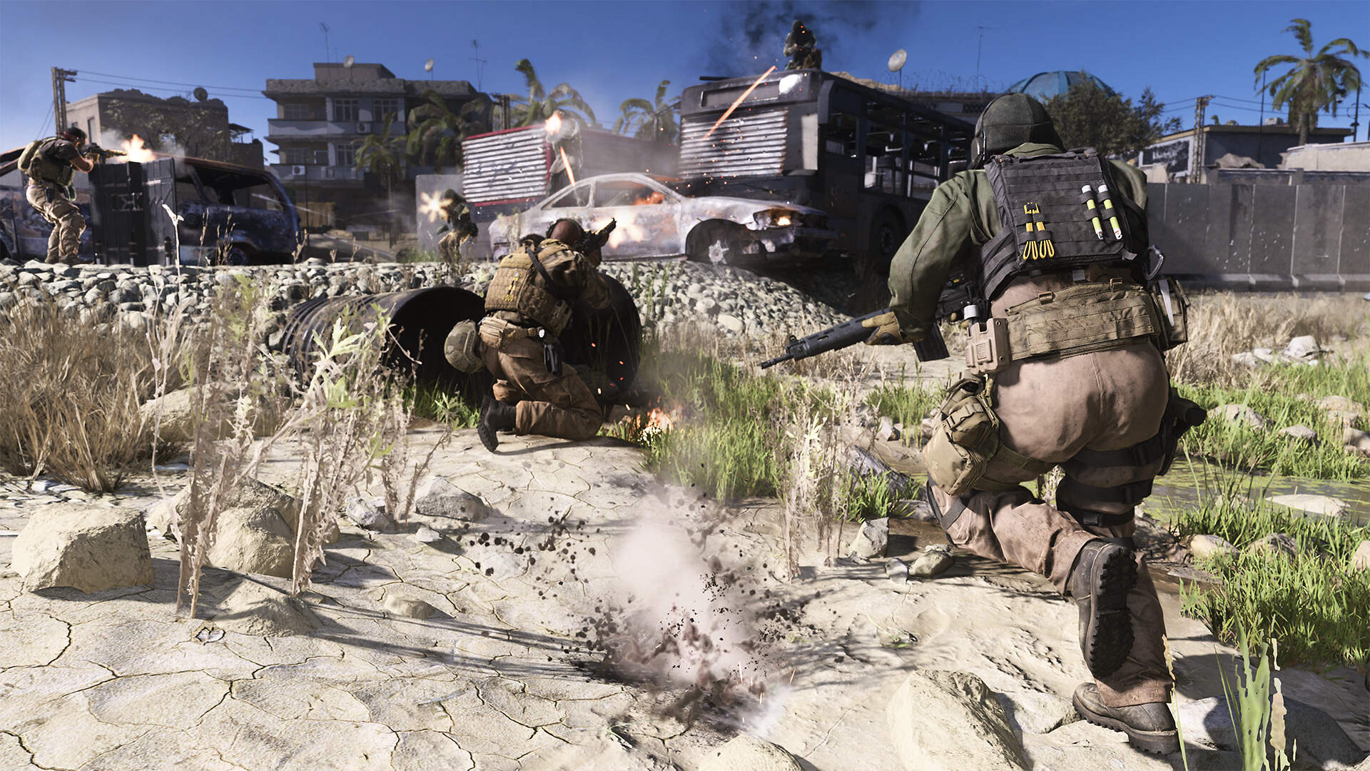 Call of Duty: Modern Warfare's Biggest Day One Problems Seem to be Lighting and Map Size