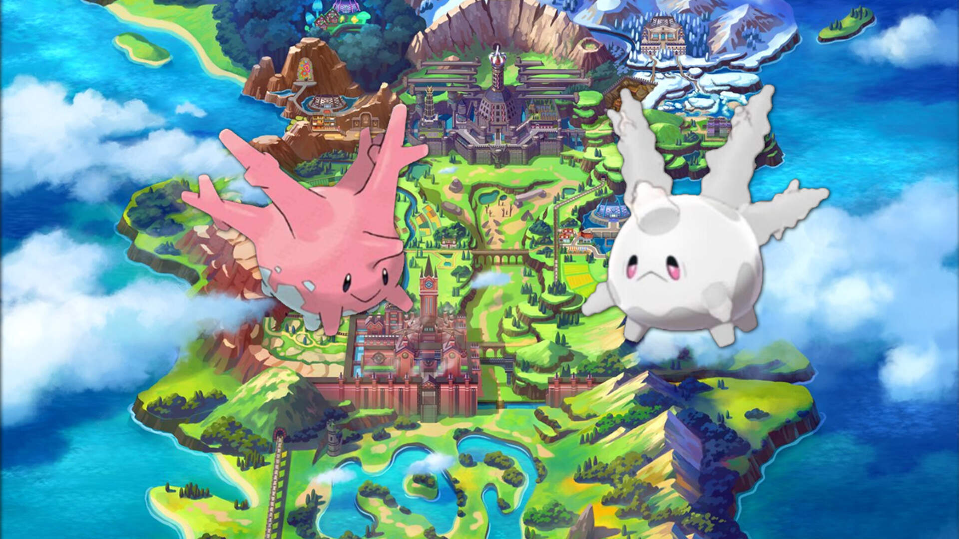 """Pokemon Sword and Shield's New """"Bleached Form"""" Corsola Is an Oddly Relaxed Nod to Climate Change"""