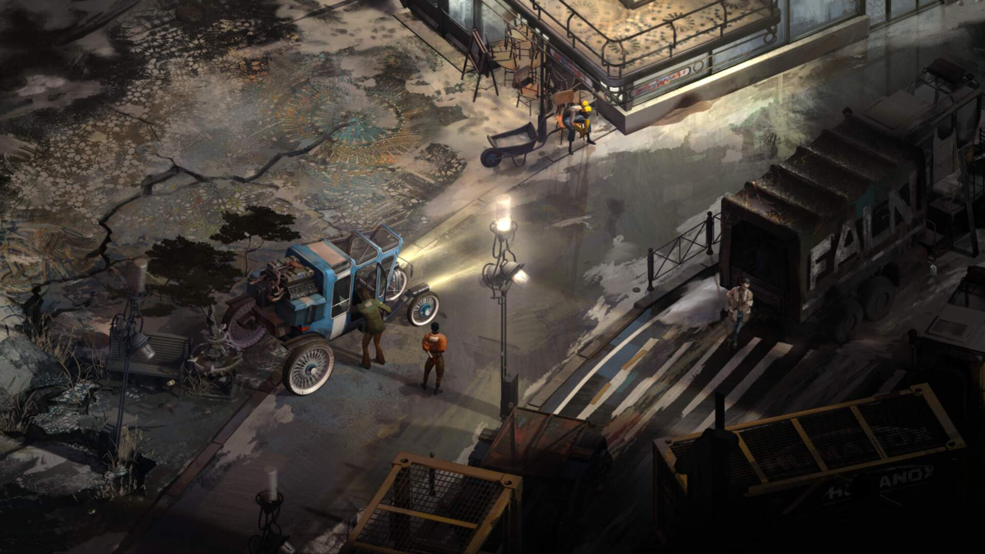 Open-World Detective RPG Disco Elysium Launches Next Month