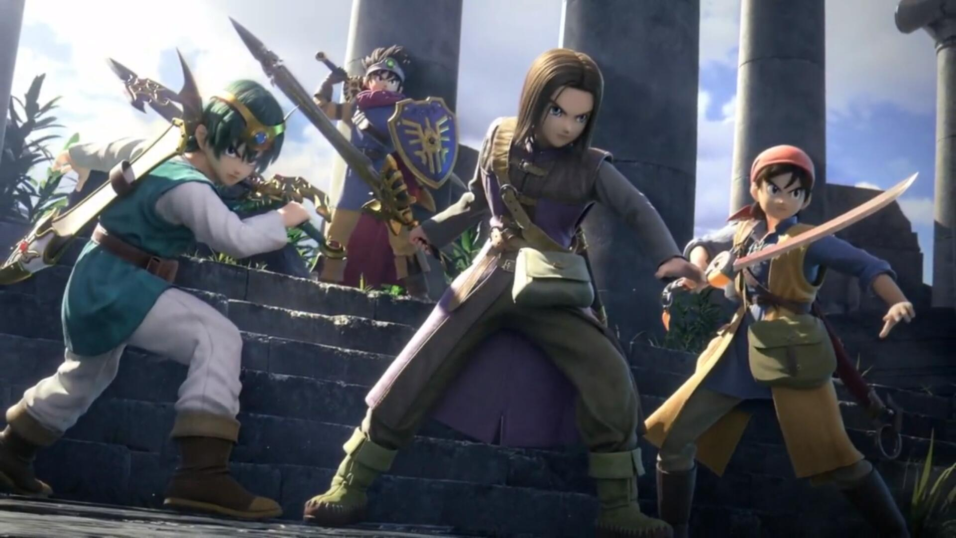 Dragon Quest's Hero Joins Super Smash Bros. Ultimate Today, Alongside A New Patch