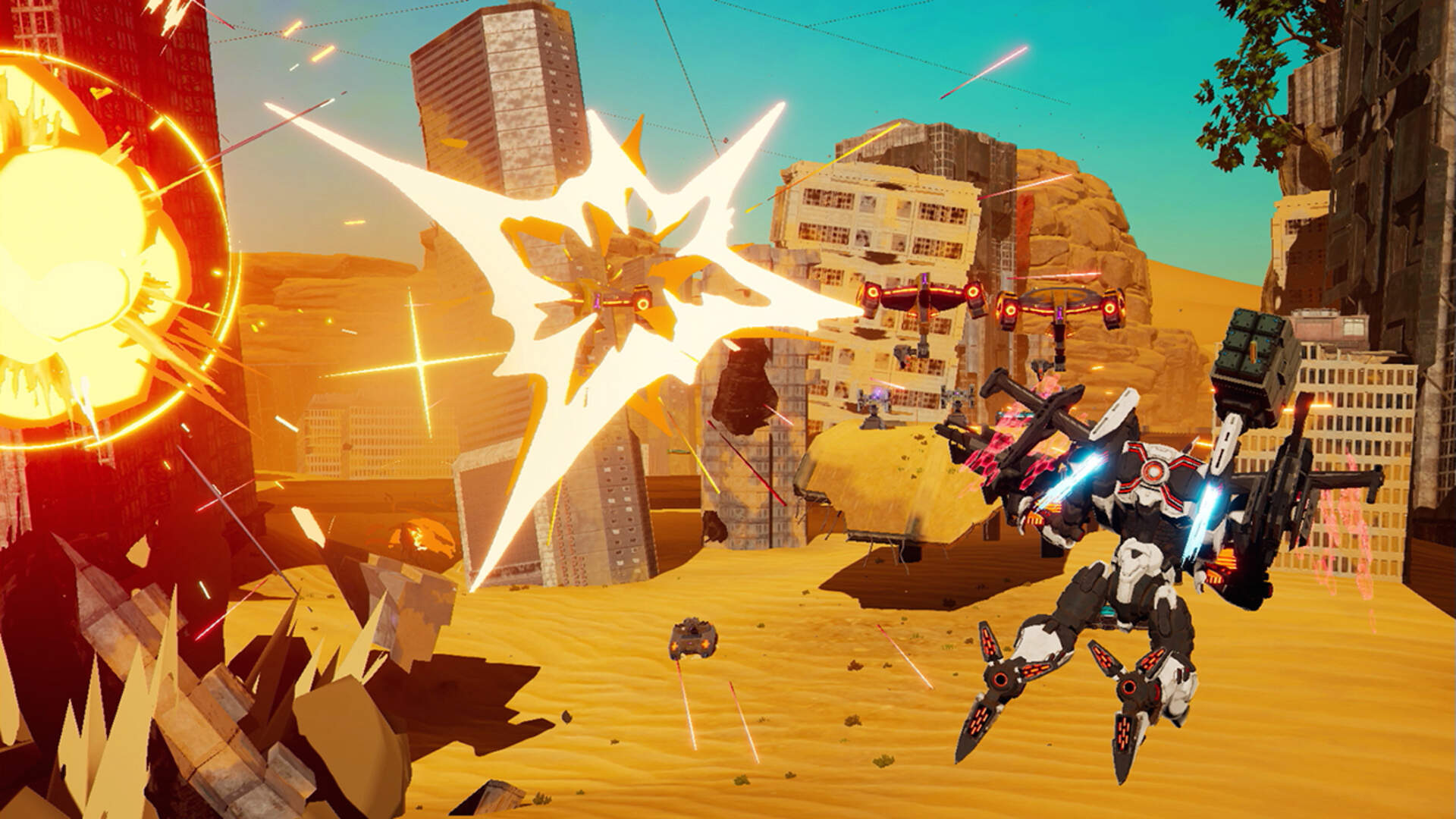Previously Switch-Exclusive Mech Romp Daemon X Machina is Coming to Steam Soon