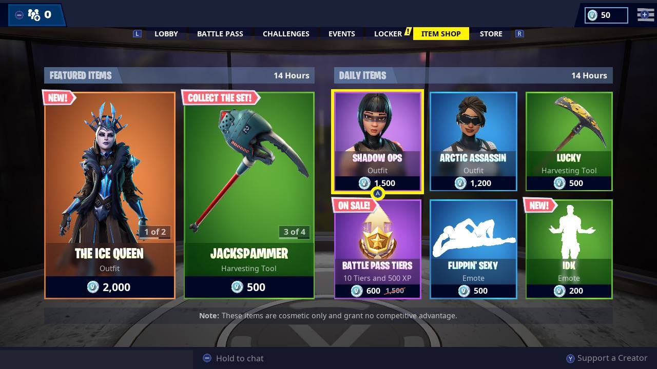 Fortnite Item Shop All Fortnite Battle Royale Store