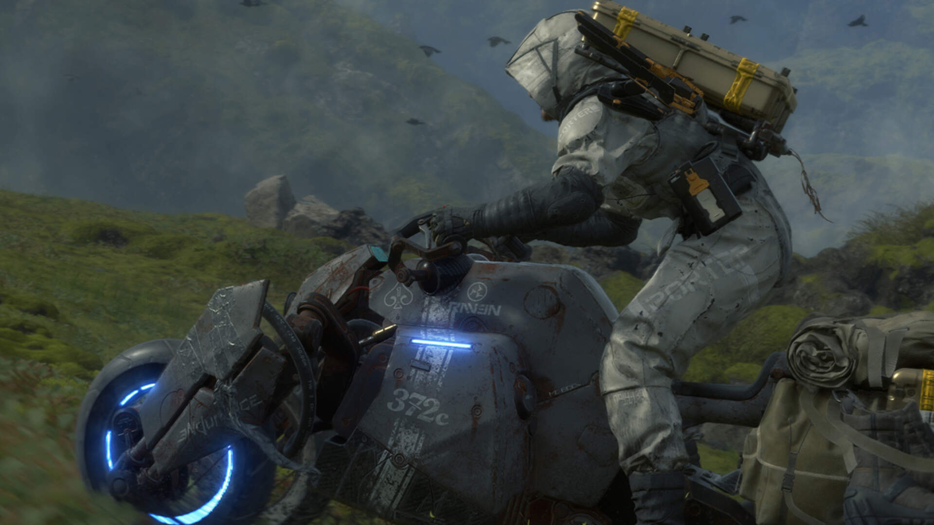 How to Repair and Recharge Vehicles in Death Stranding