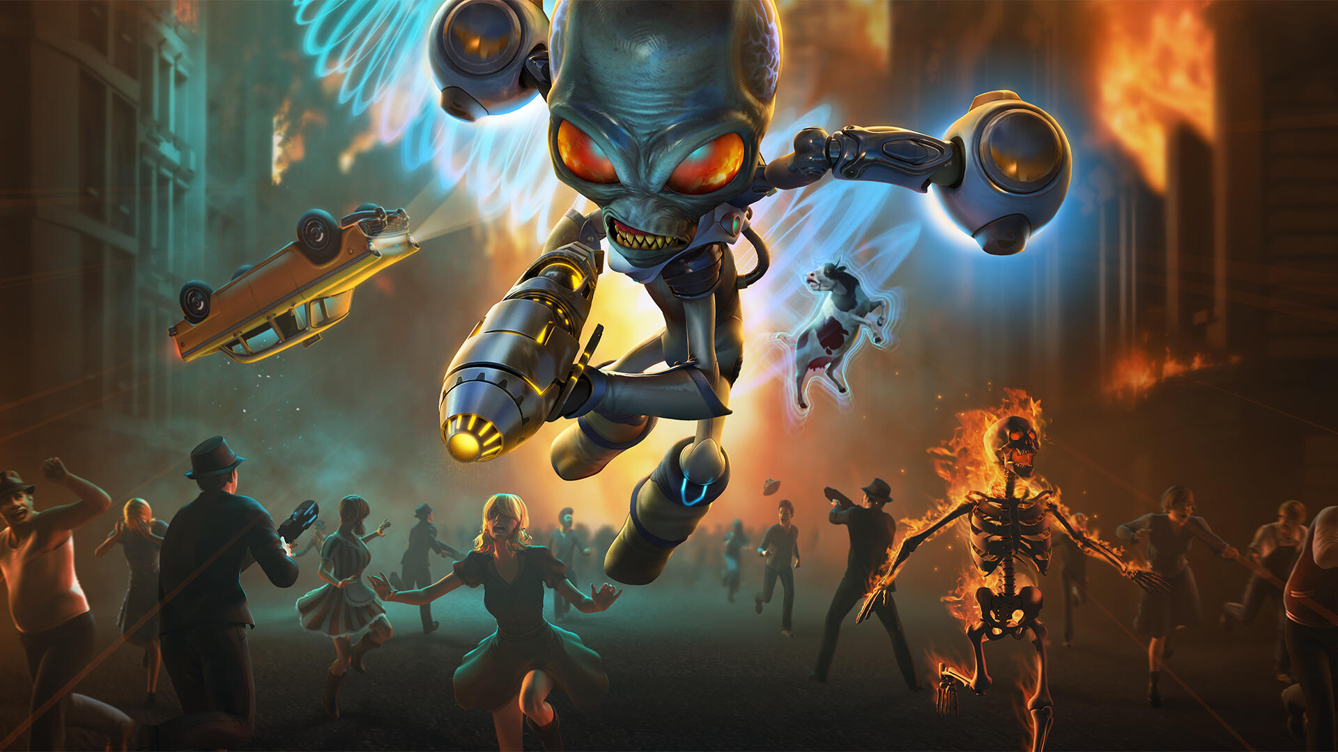 Playing The Strange Destroy All Humans Remake Left Us With One Question: Why?
