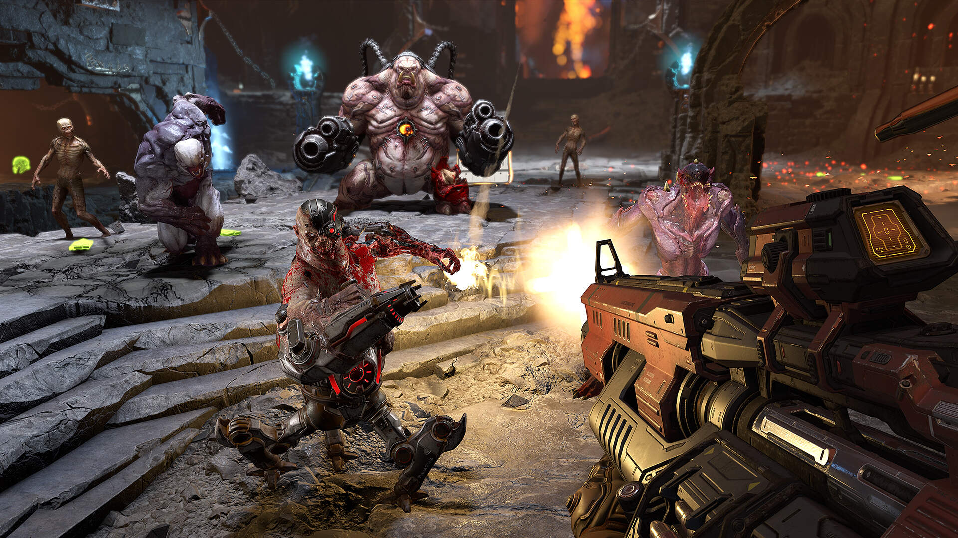 "Adding Dash To Doom Eternal ""Broke the Game For Quite a While,"" Developers Say"