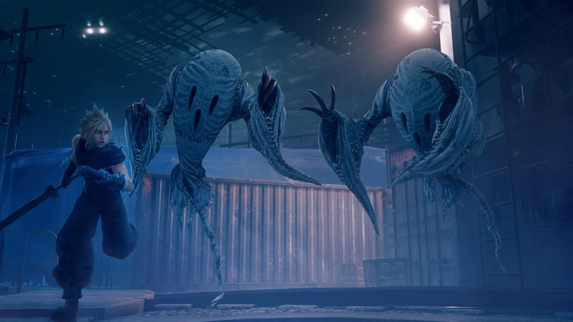 Final Fantasy 7 Remake Shows Off Spooky New Screenshot as a Halloween Treat