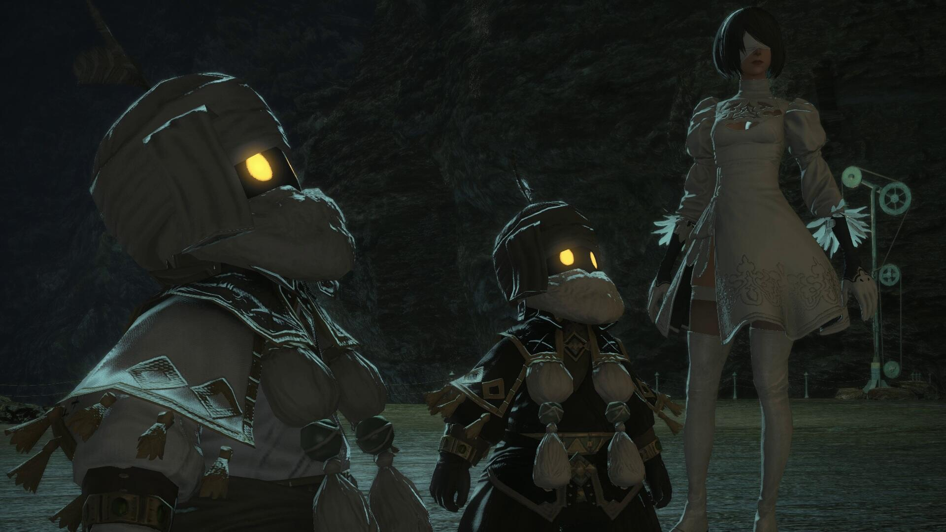Nier: Automata Raid Carves Out Its Existence Within Final Fantasy 14's World