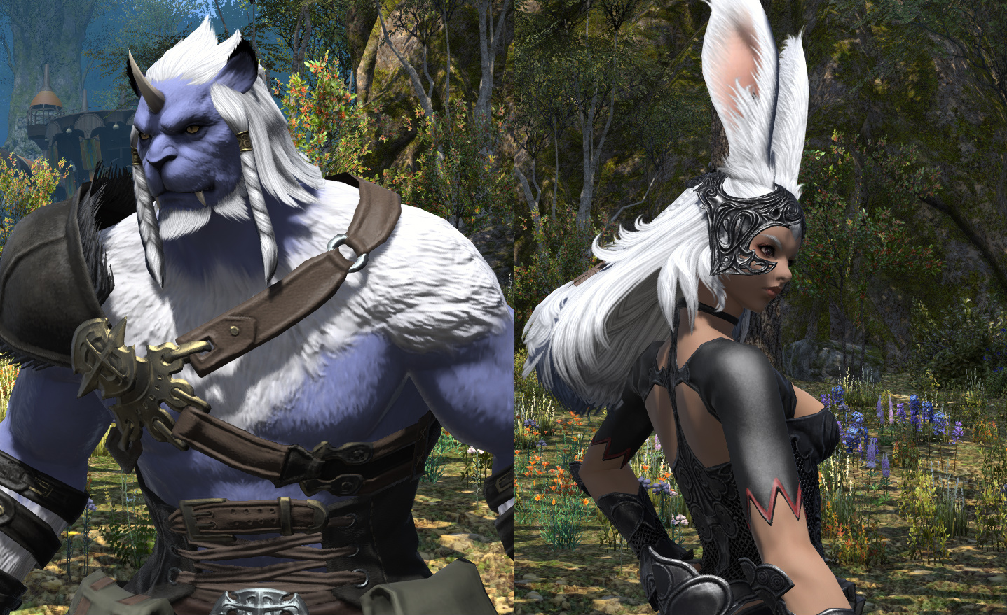 Final Fantasy 14: Shadowbringers' Director on the Viera and Hrothgar
