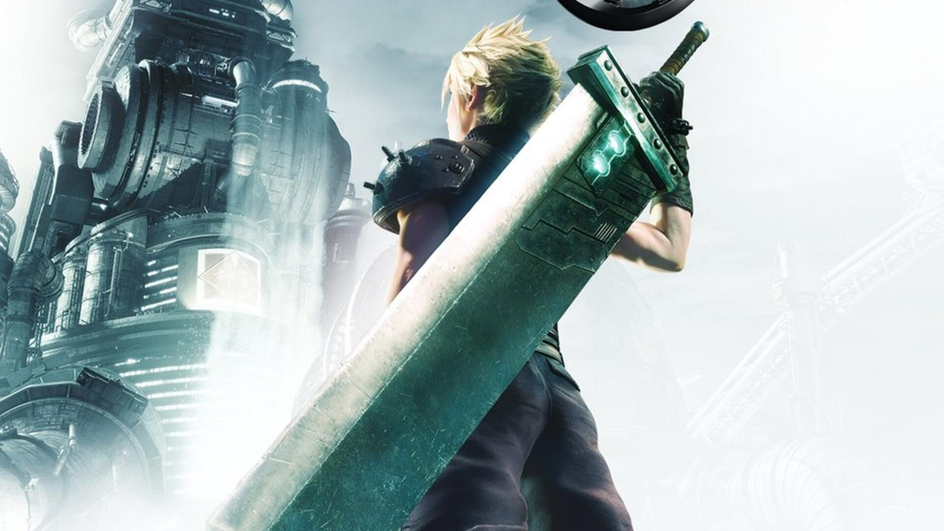 Final Fantasy 7 Remake S Box Art Is A Callback To The Original