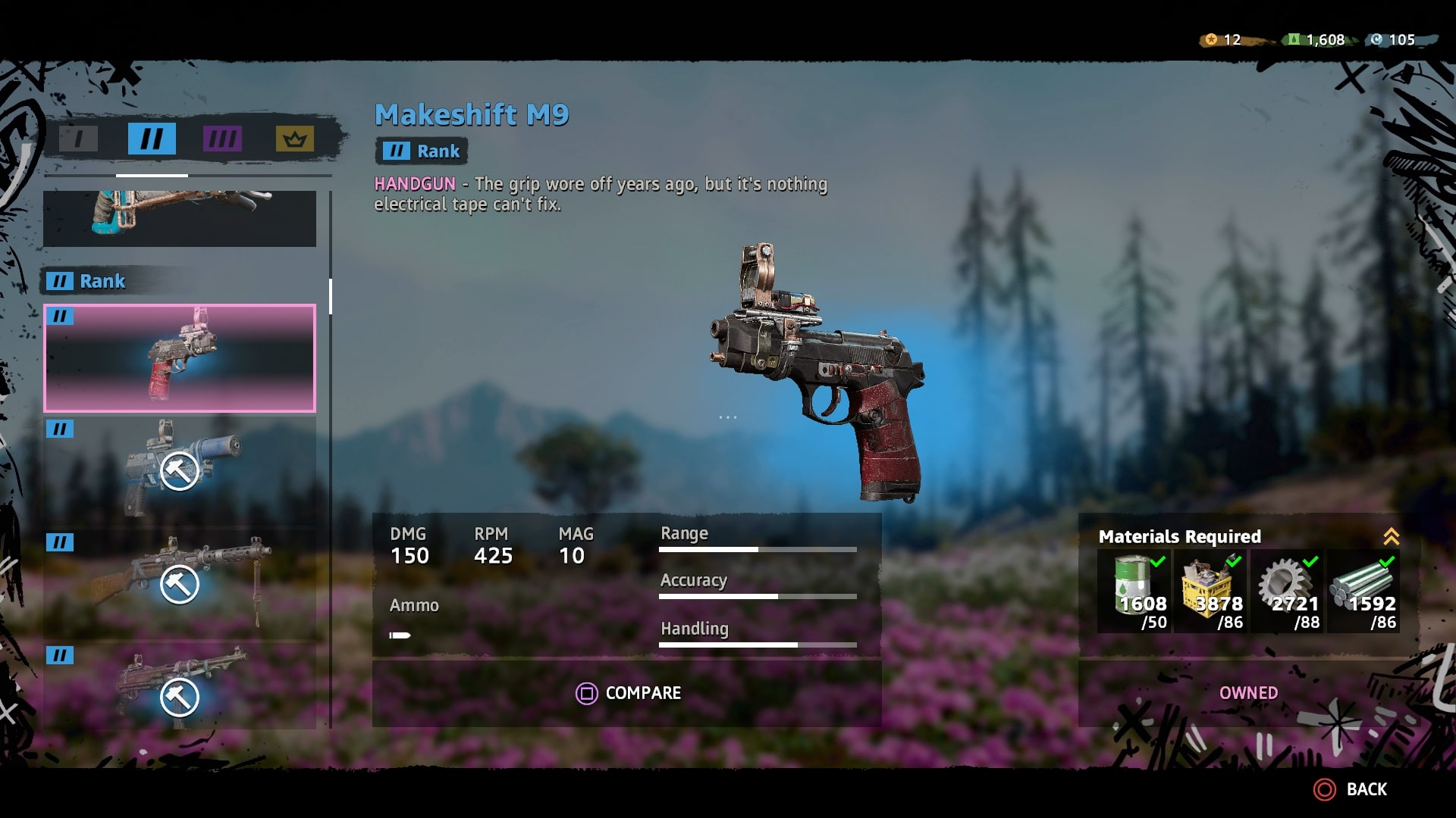 Far Cry New Dawn Best Guns Full Weapons List Elite Weapons How To Upgrade Weapons Usgamer