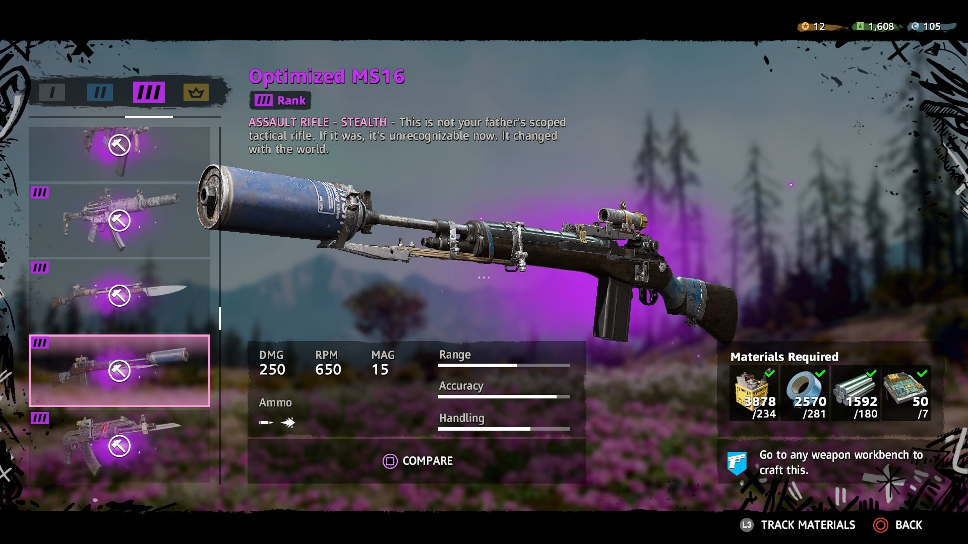 Far Cry New Dawn Best Guns - Full Weapons List, Elite