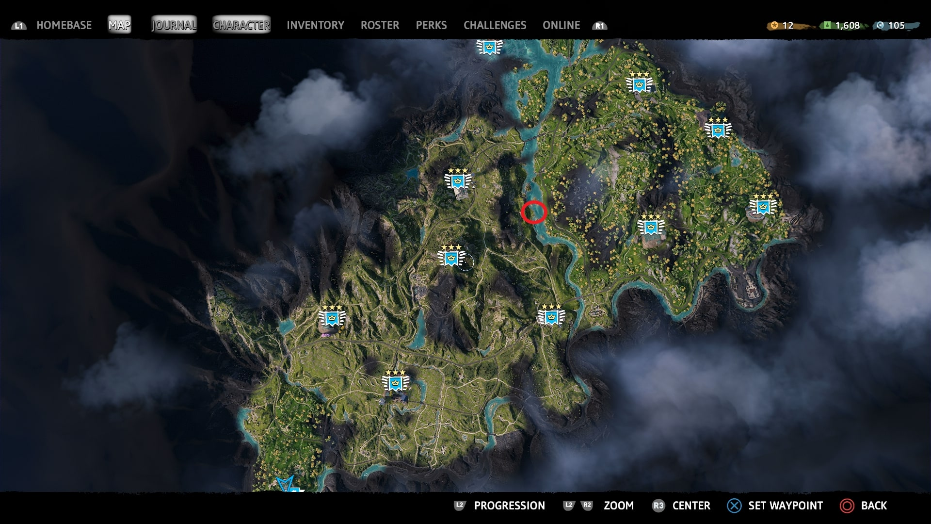 far cry 5 new dawn map overlay