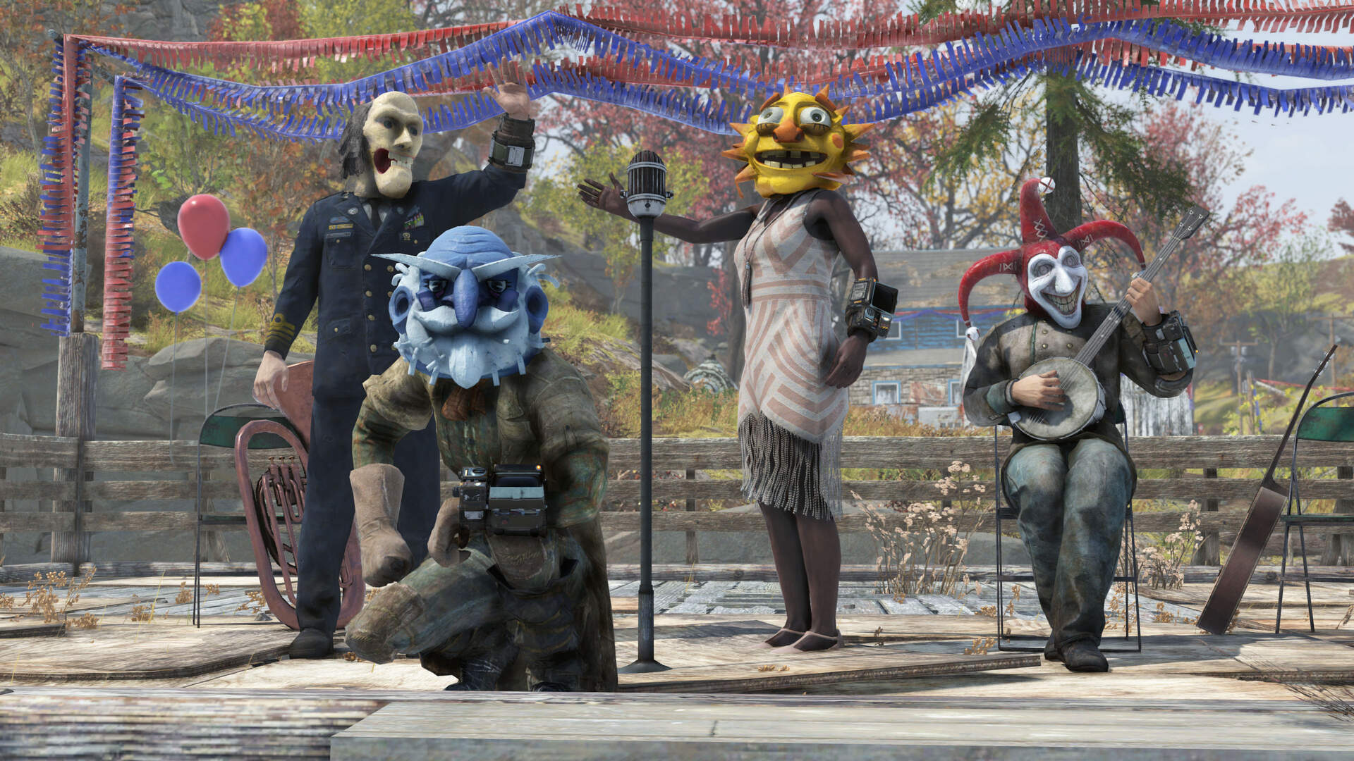 Bethesda Details Fallout 76's First Seasonal Event: The Fasnacht Parade