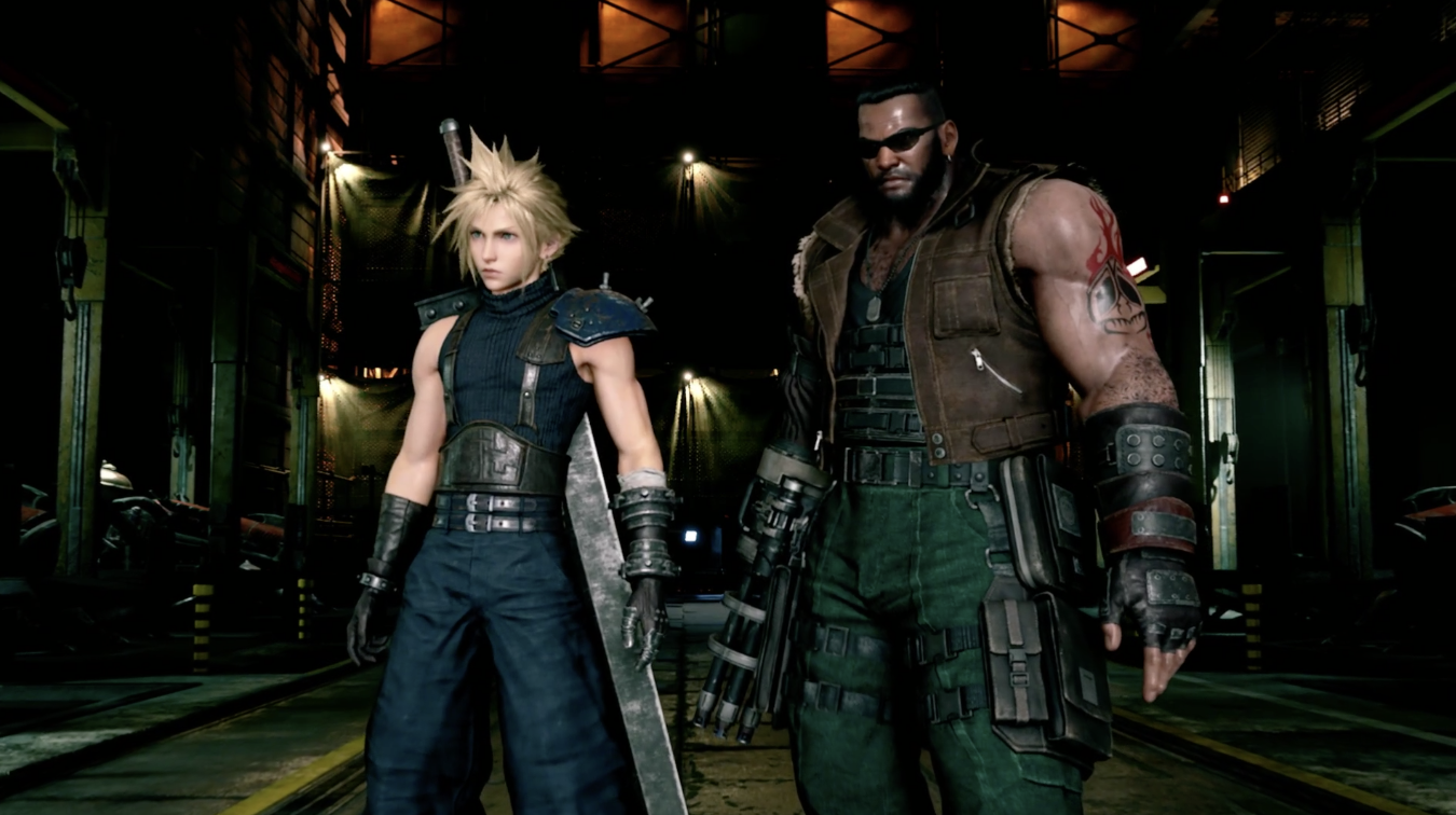 Final Fantasy 7 Remake Ps4 Gameplay Demo E3 2019