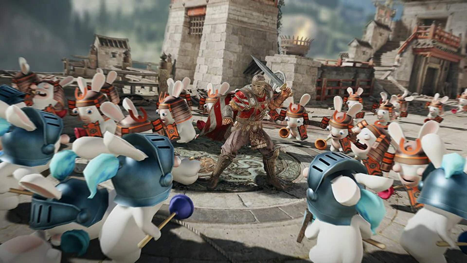 Slaughter Rabbids in For Honor's Real April Fool's Day Event