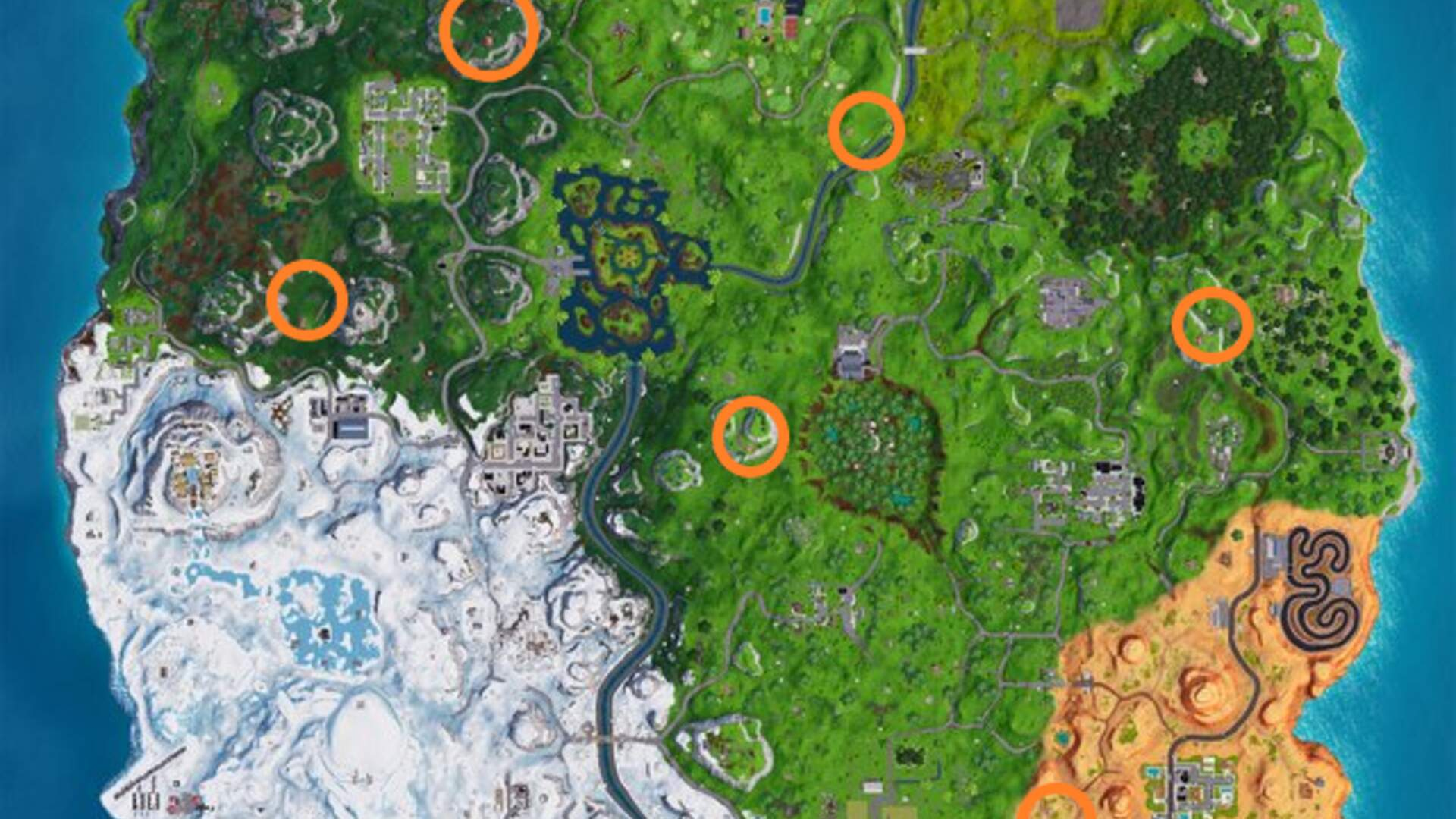 Fortnite Expedition Outpost Locations - Visit All Expedition Outposts in Week 10