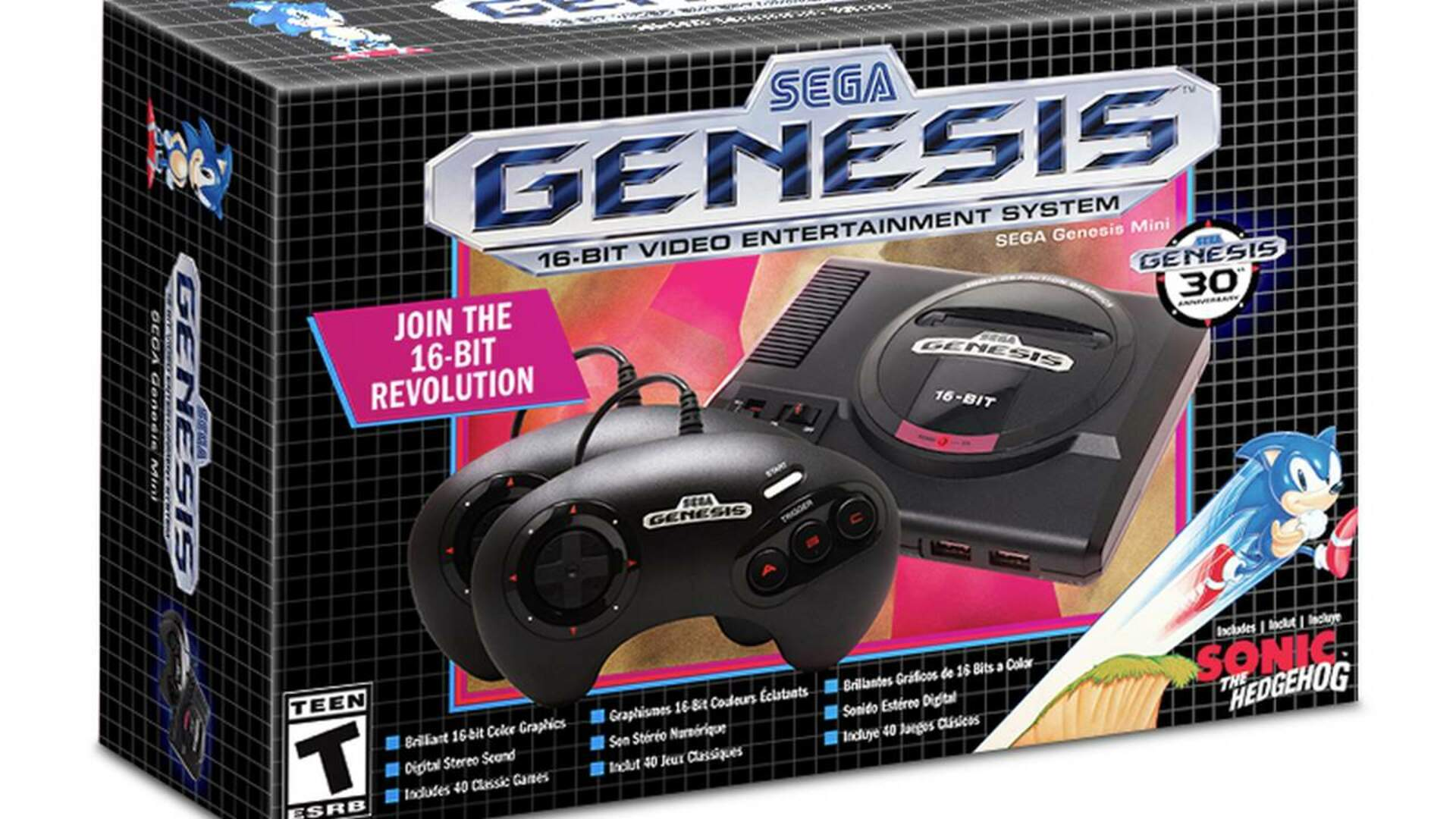 The Sega Genesis Mini's Full Line-Up Reveals More Games Than Promised