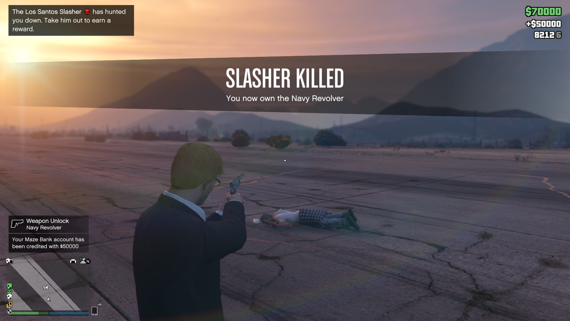 1618053220 366 70 GTA Online: How to unlock the Navy Revolver and find all the Los Santos Slasher clues