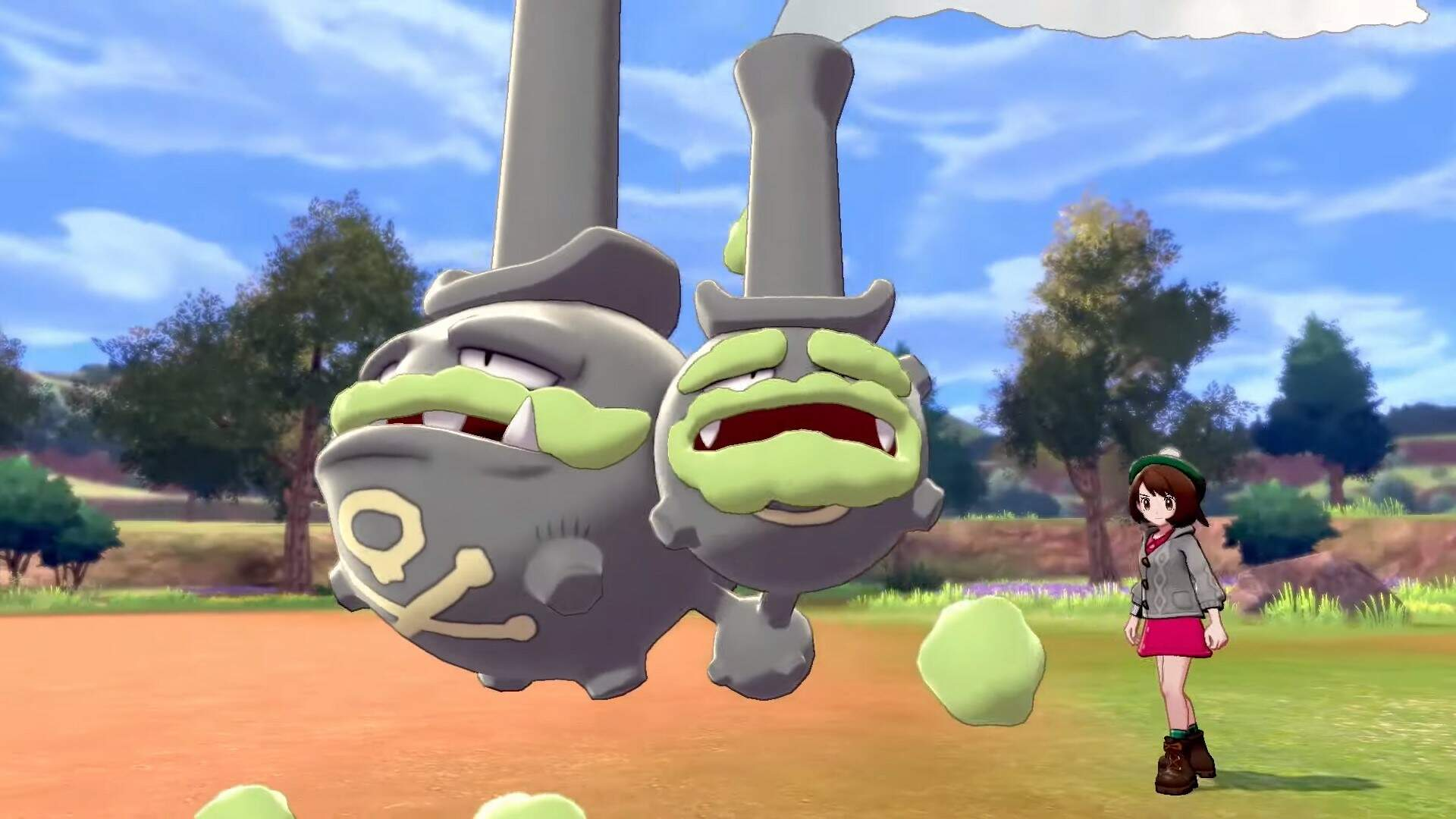 Pokemon Sword and Shield Galarian Form Pokemon