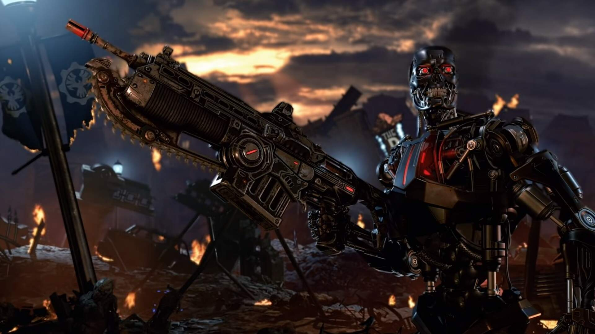 Gears 5 Terminator Character Pack - Sarah Connor, T-800, Release Date