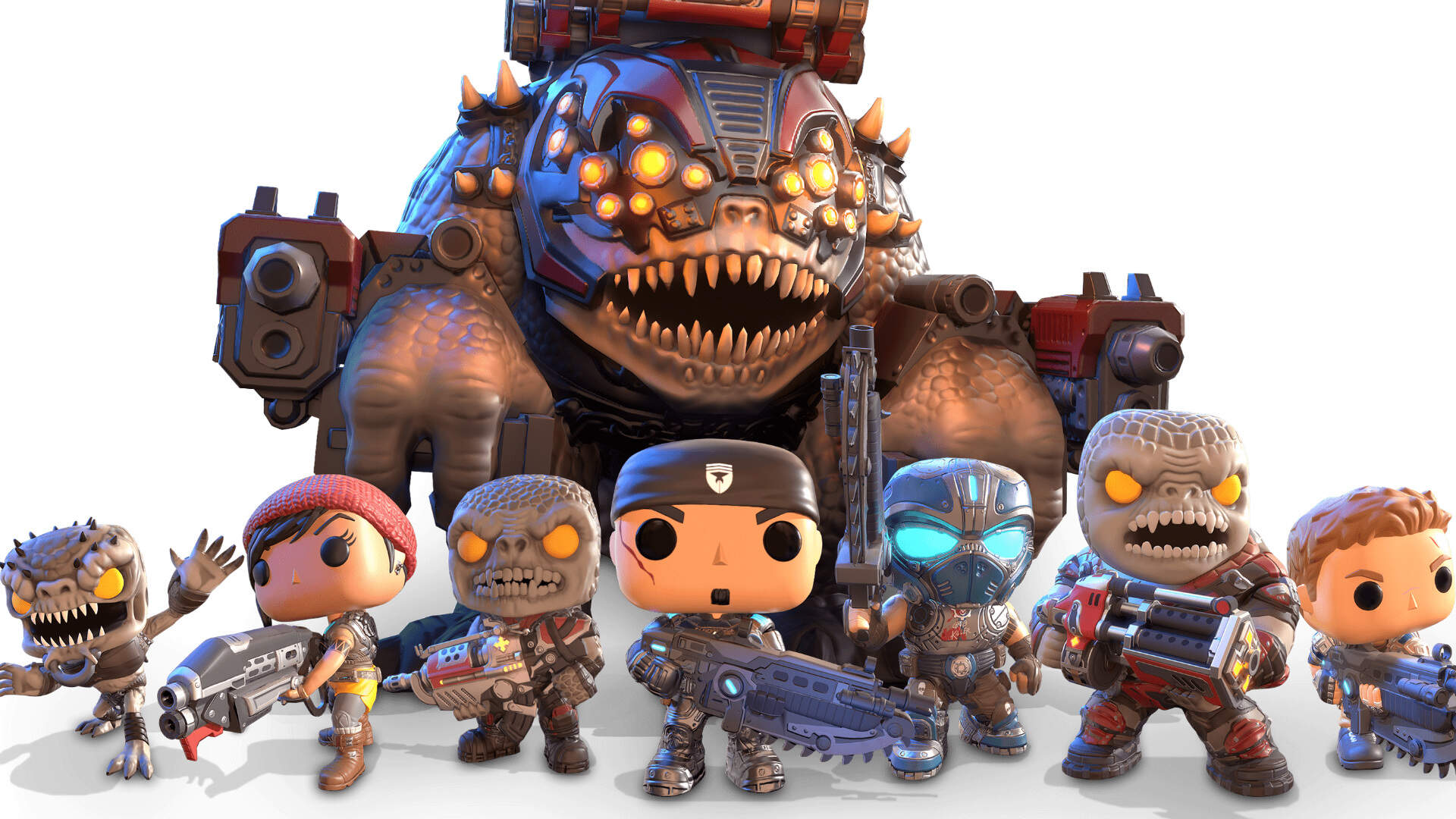 Gears Pop Brings Funkos and Tactics to PC and Mobile Later This Week