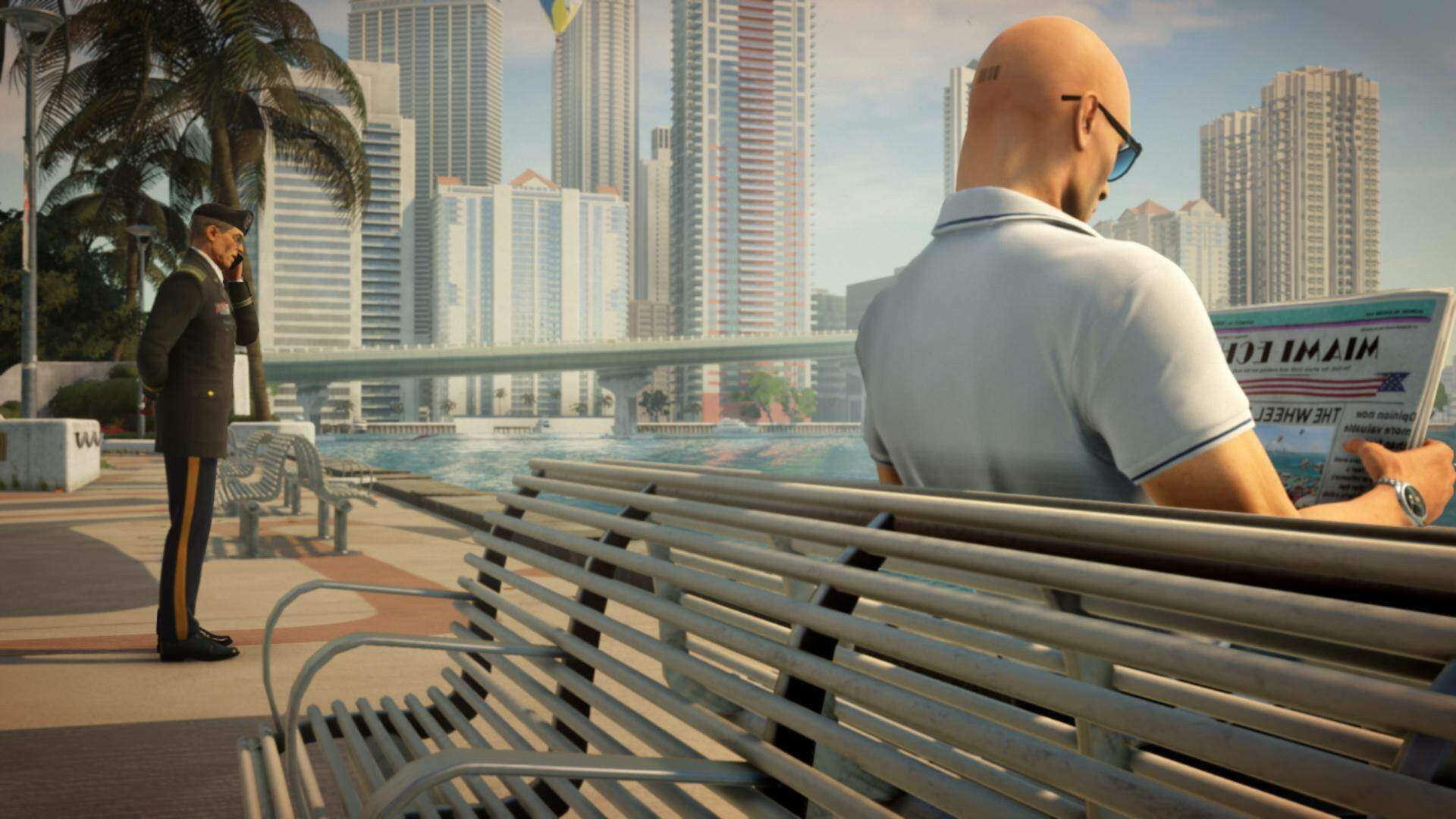 Jogger Can Run But Never Truly Escape Hitman 2's Homing Briefcase