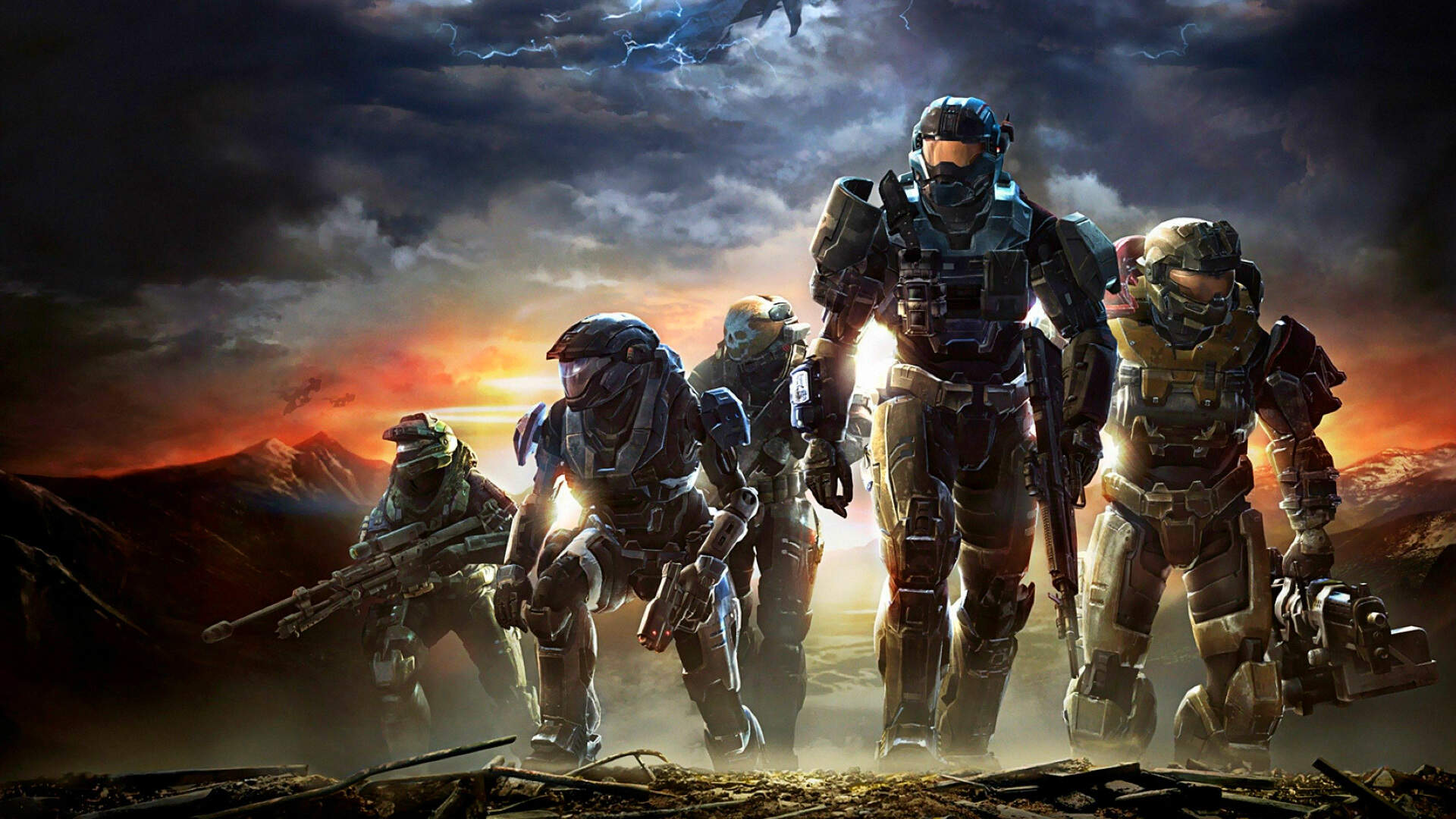 The Making of Lone Wolf, Halo: Reach's Famous Final Mission