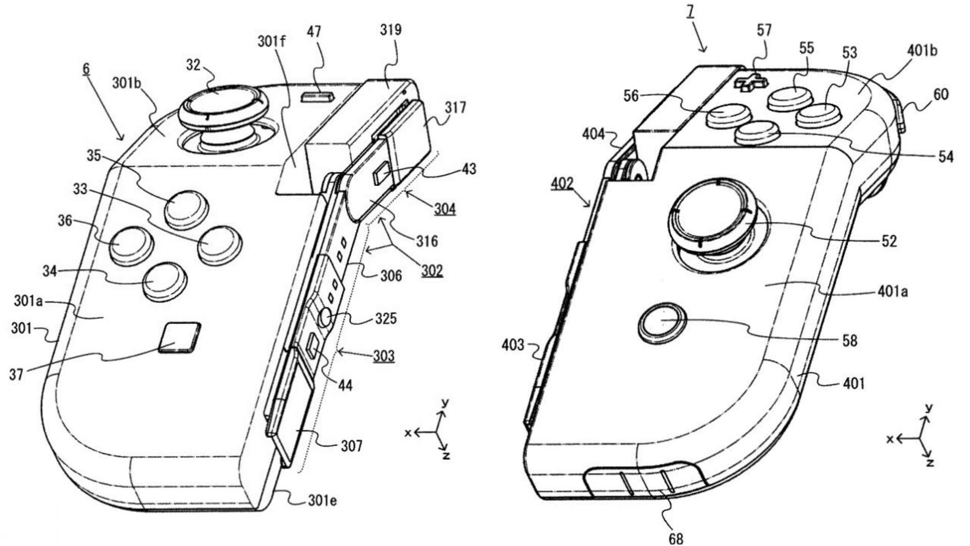 Nintendo Files Patent For What Looks Like a Hinged Joy-Con