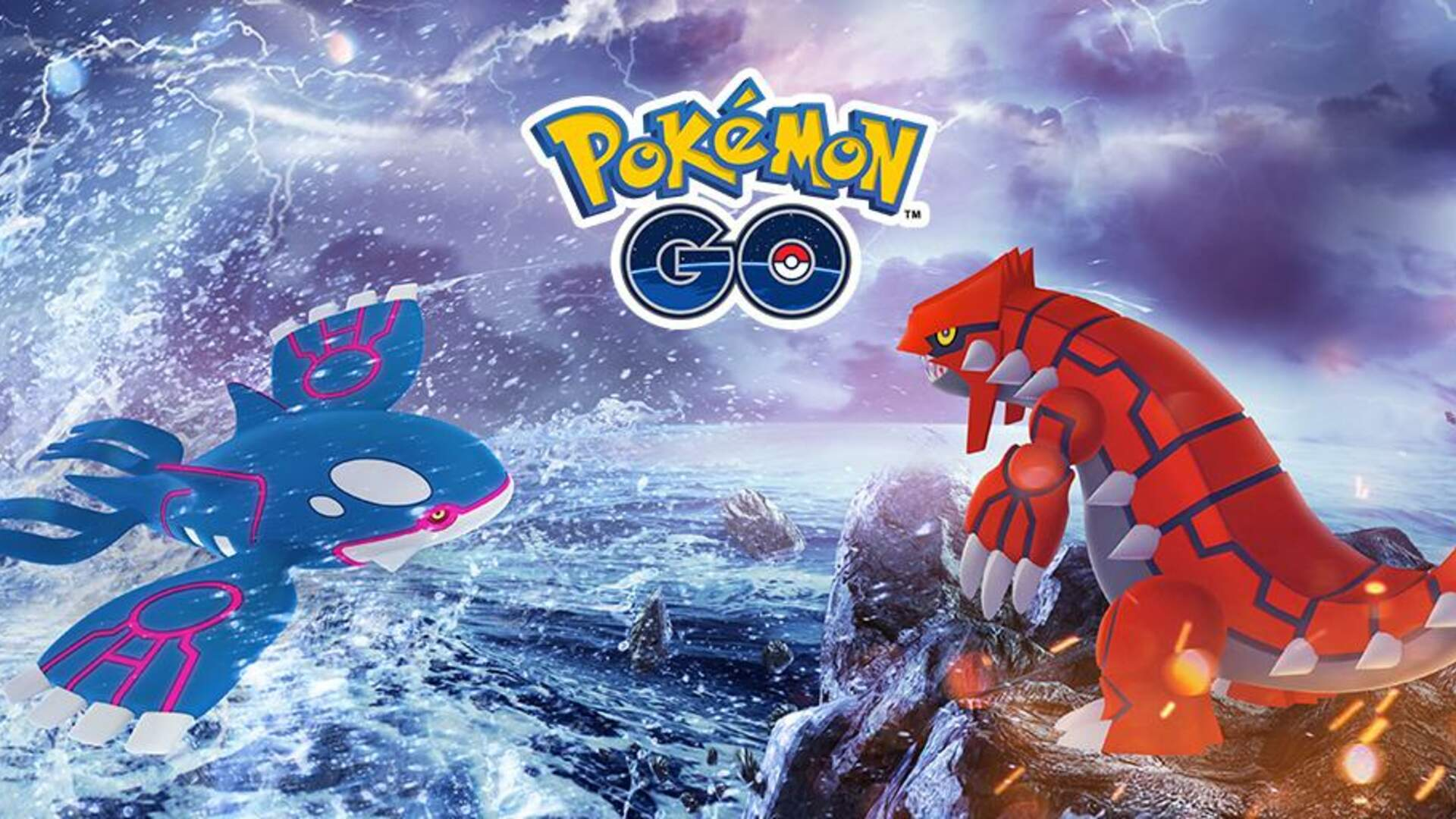 Pokemon Go Hoenn Celebration - Shiny Zigzagoon, Team Aqua, Kyogre