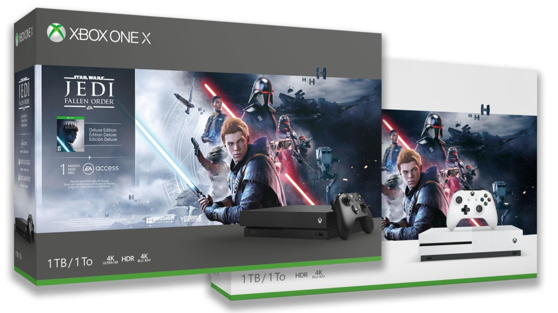 Star Wars Jedi: Fallen Order Bundles Bring the Force to Xbox One