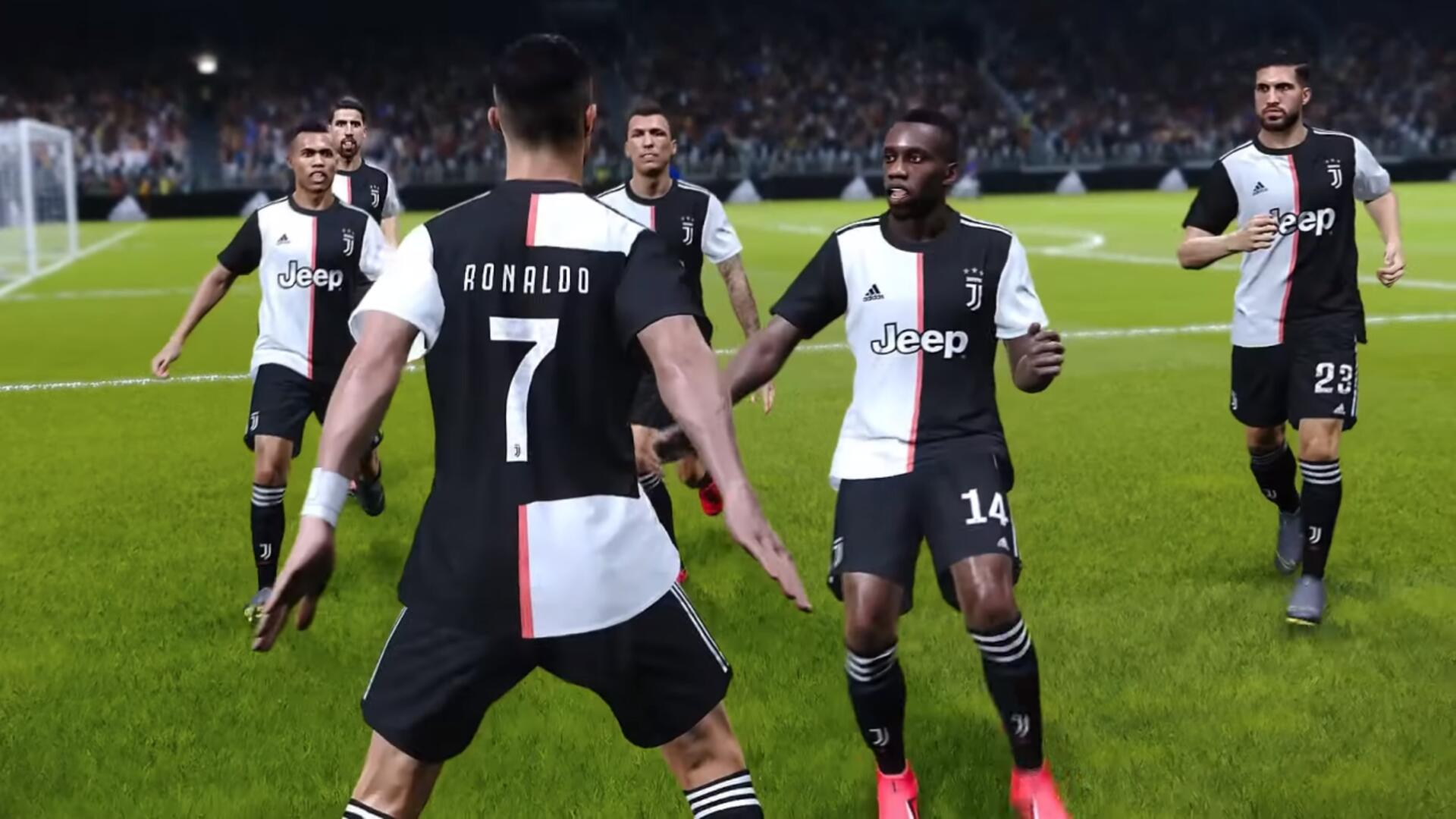 FIFA 20 Won't Include Juventus License as PES Signs Exclusive Deal