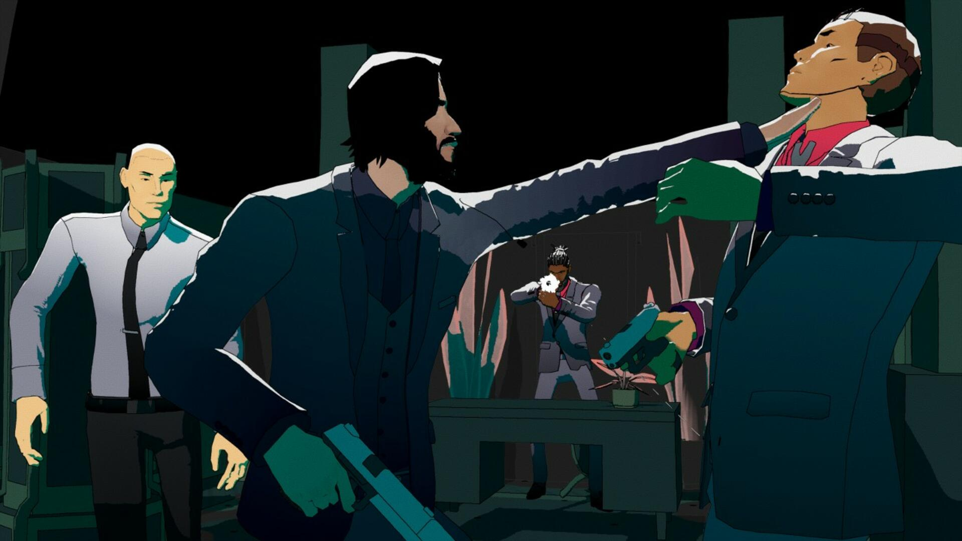 John Wick Hex is Keanu Reeves Meets XCOM in New Game by Mike Bithell