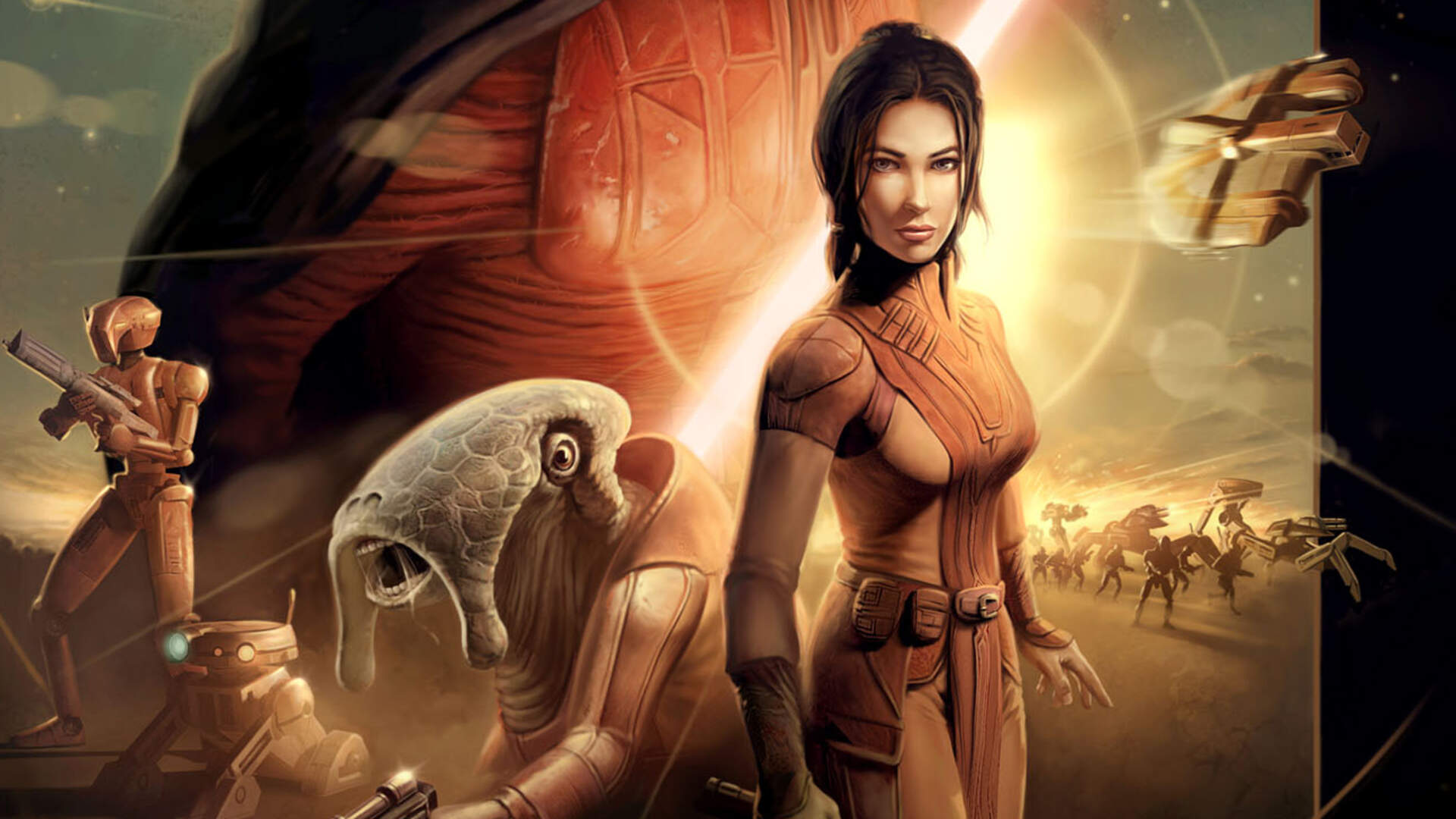 Report: Star Wars: Knights of the Old Republic Film Adaptation Script Nearly Finished