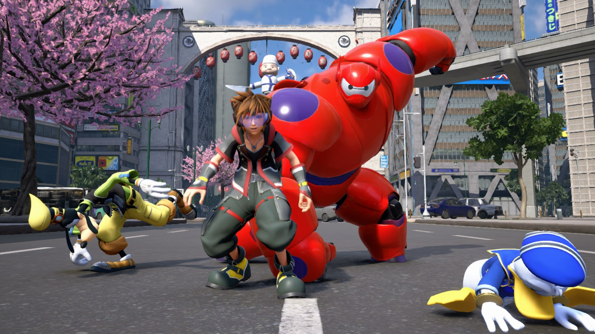 Kingdom Hearts 3 San Fransokyo Treasures And Collectibles Usgamer