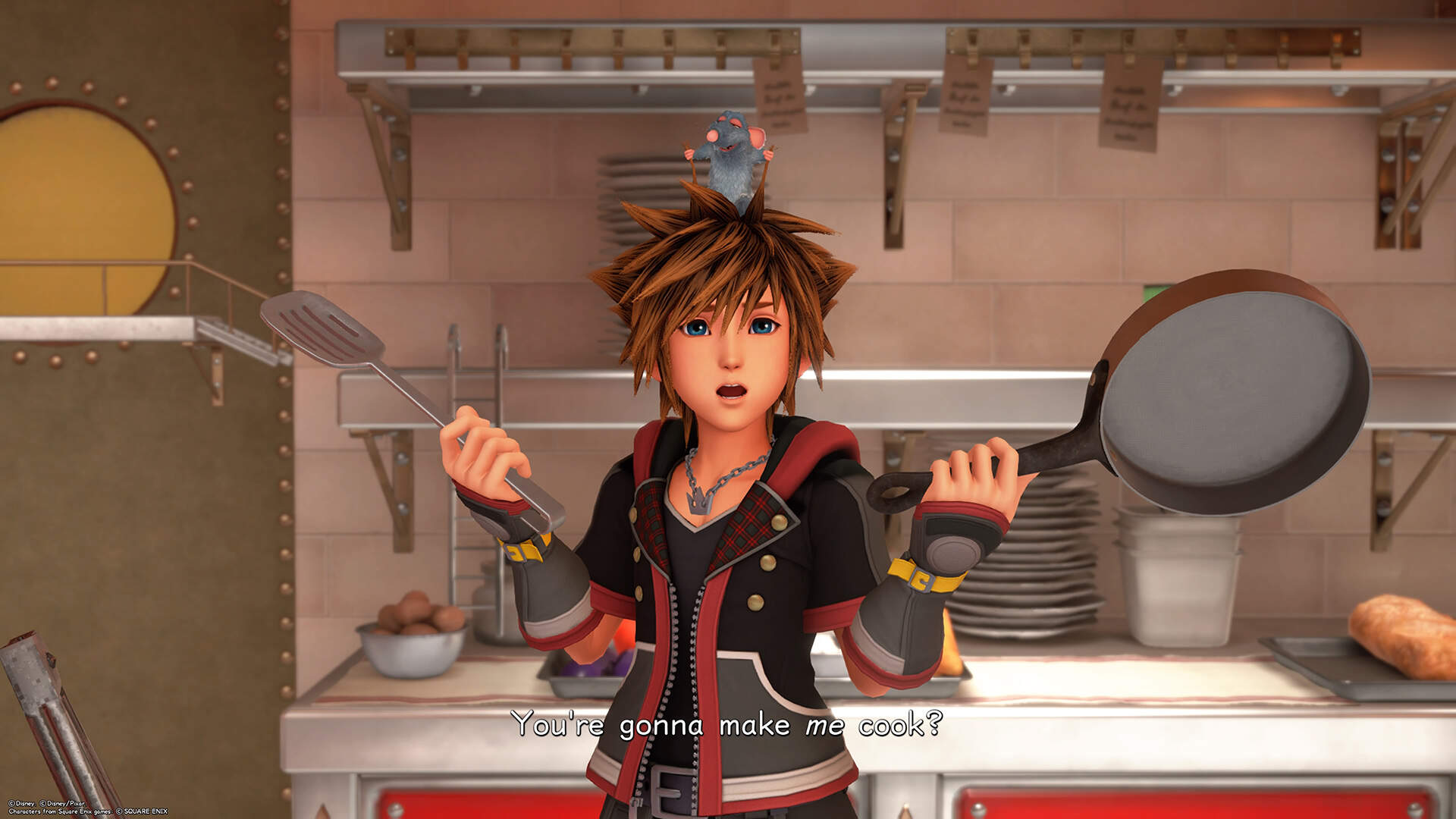 Kingdom Hearts 3 Twilight Town Walkthrough - Treasure Chests, Map Locations, 9 Ingredients For Little Chef