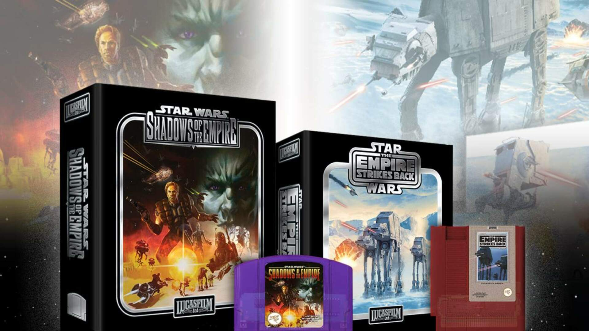 Shadows of the Empire and The Empire Strikes Back Are Getting Re-Released For Retro Consoles