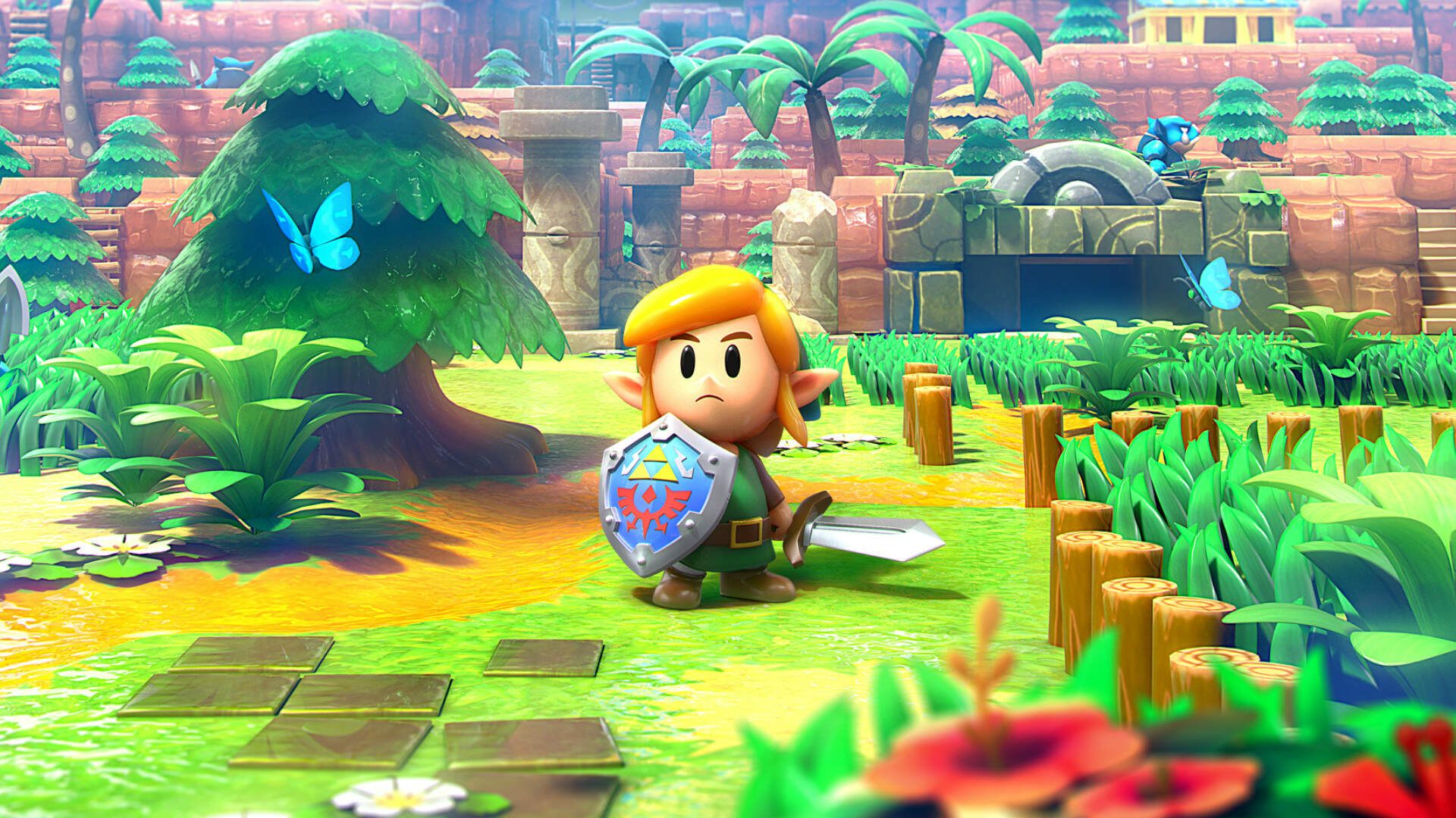 Link's Awakening Leads UK Charts Over Borderlands 3