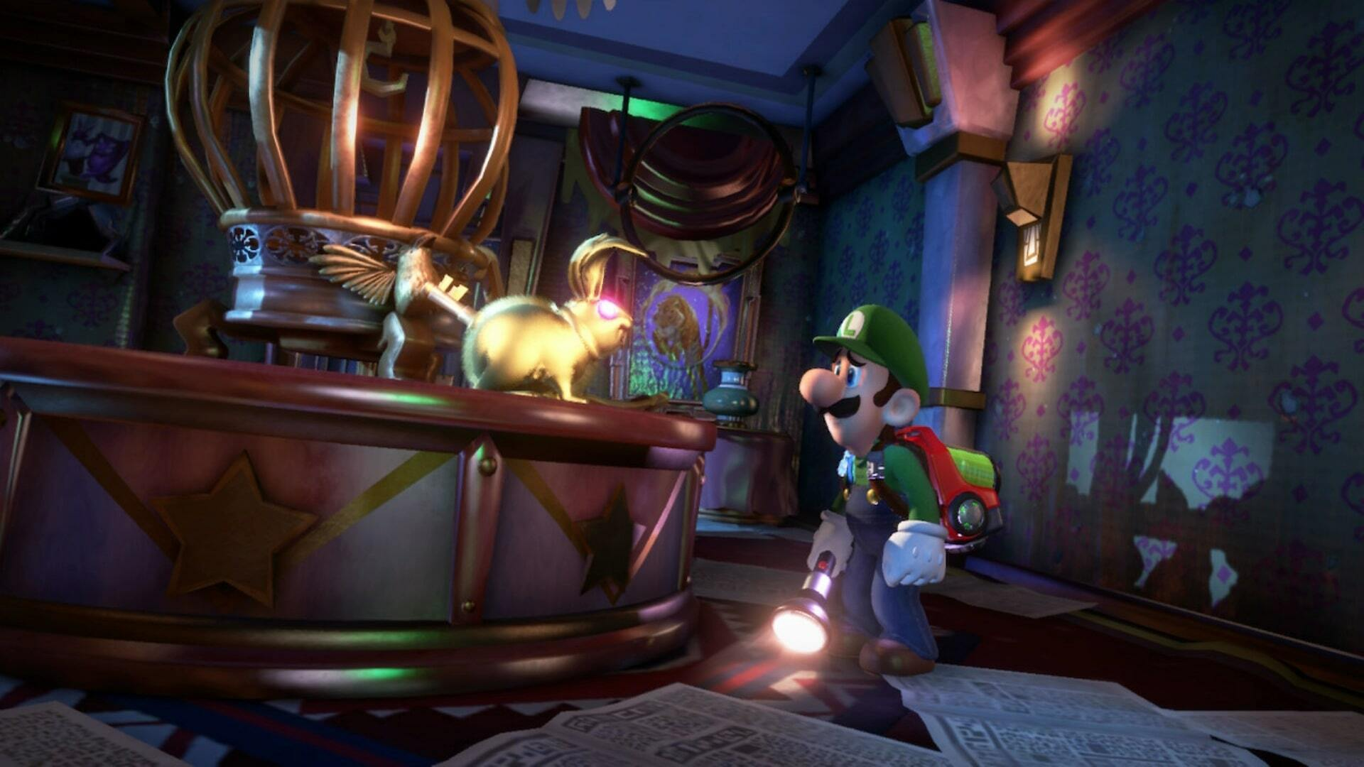 Luigi's Mansion 3: How to Get the Gold Key From the Gold Rabbit