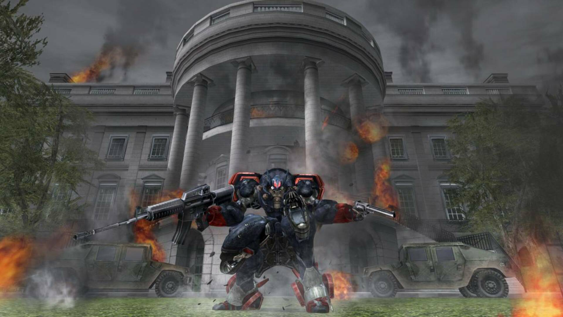 Metal Wolf Chaos XD's Exaggerated Japanese Take On American Patriotism, as Observed by a Canadian