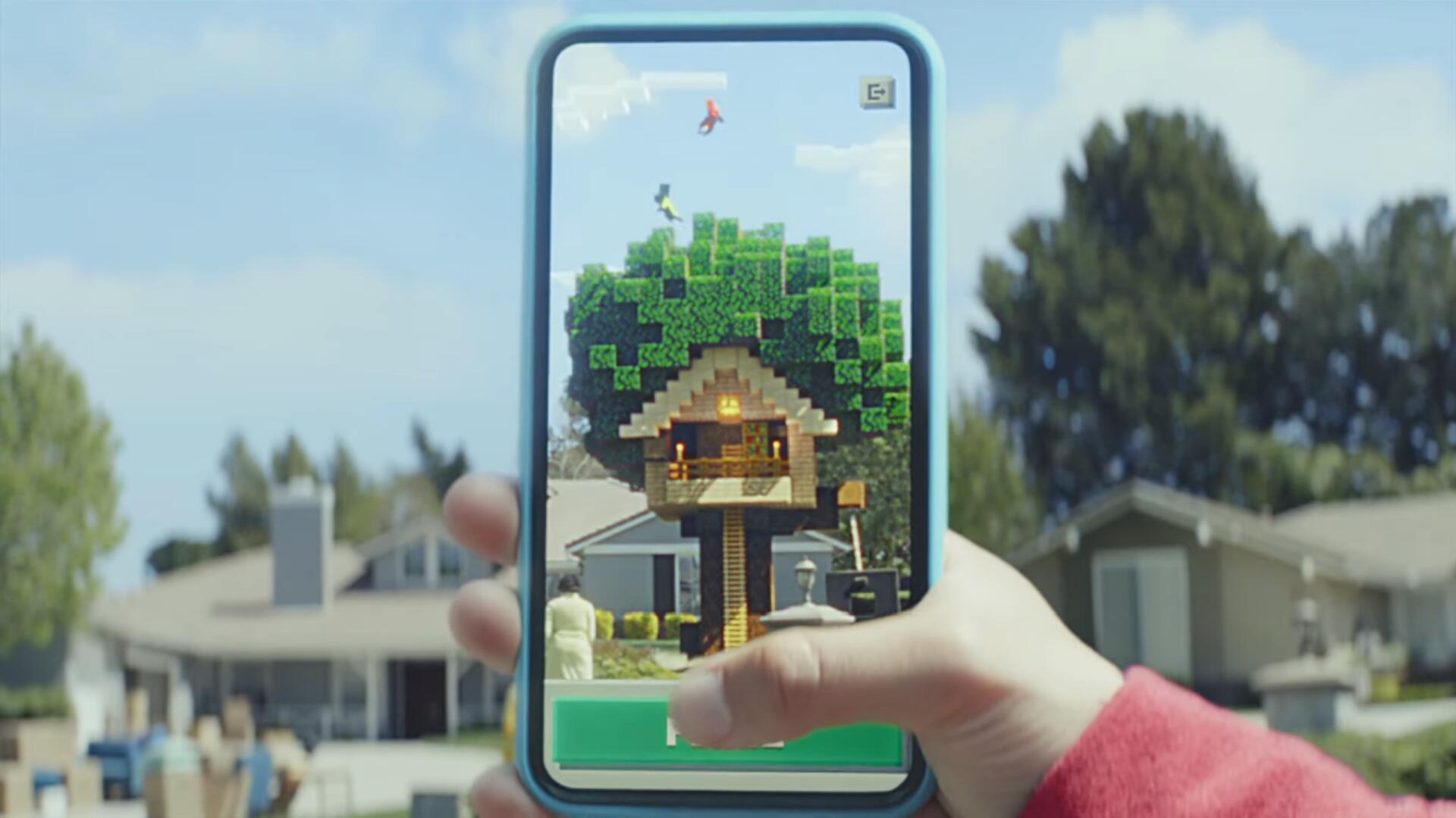 Minecraft Earth Is a New Augmented Reality Mobile Game and It Hits Closed Beta This Summer