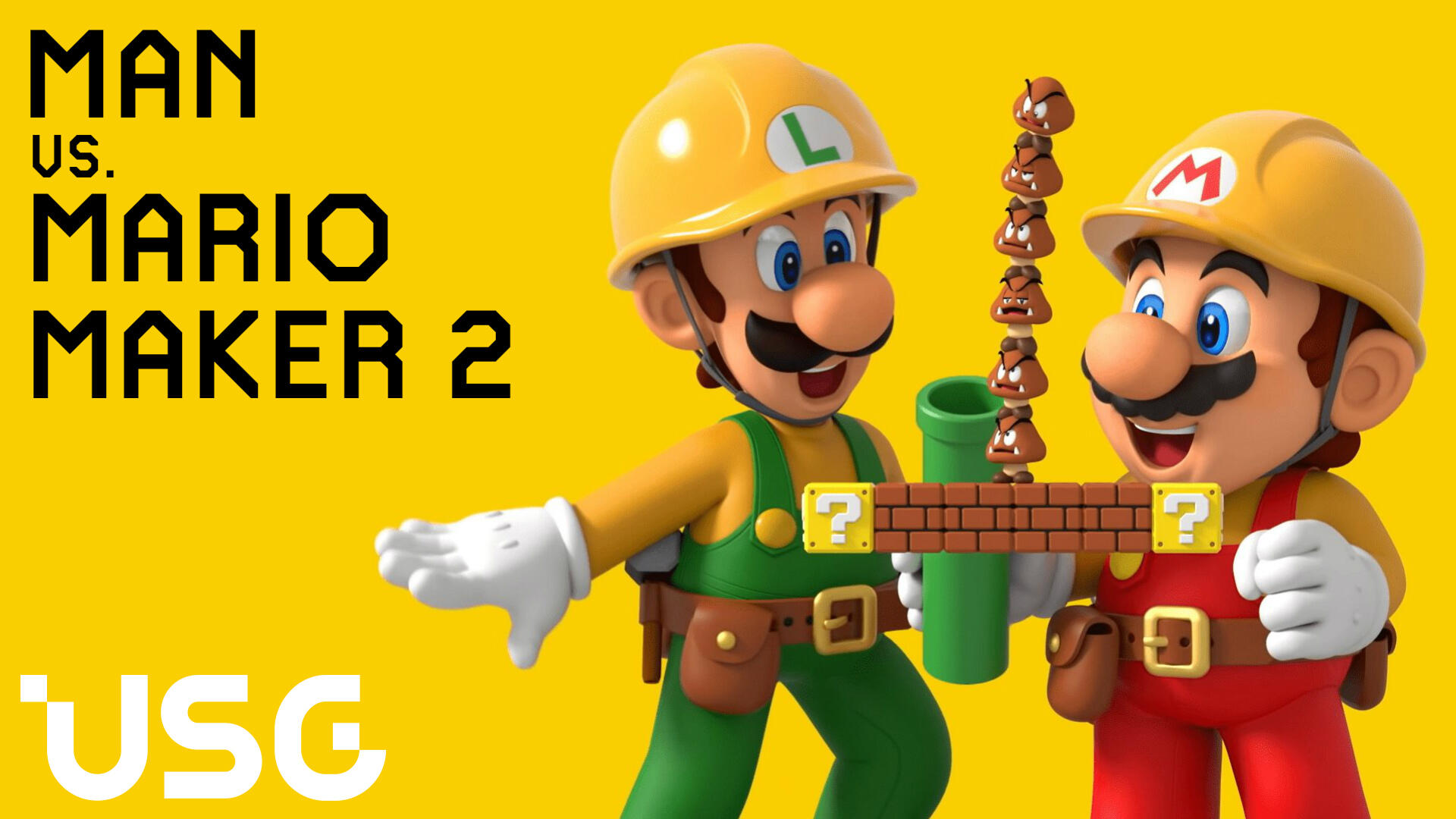 Man vs. Mario Maker 2: The Superball, Arby's, and World 1-1 is Burning