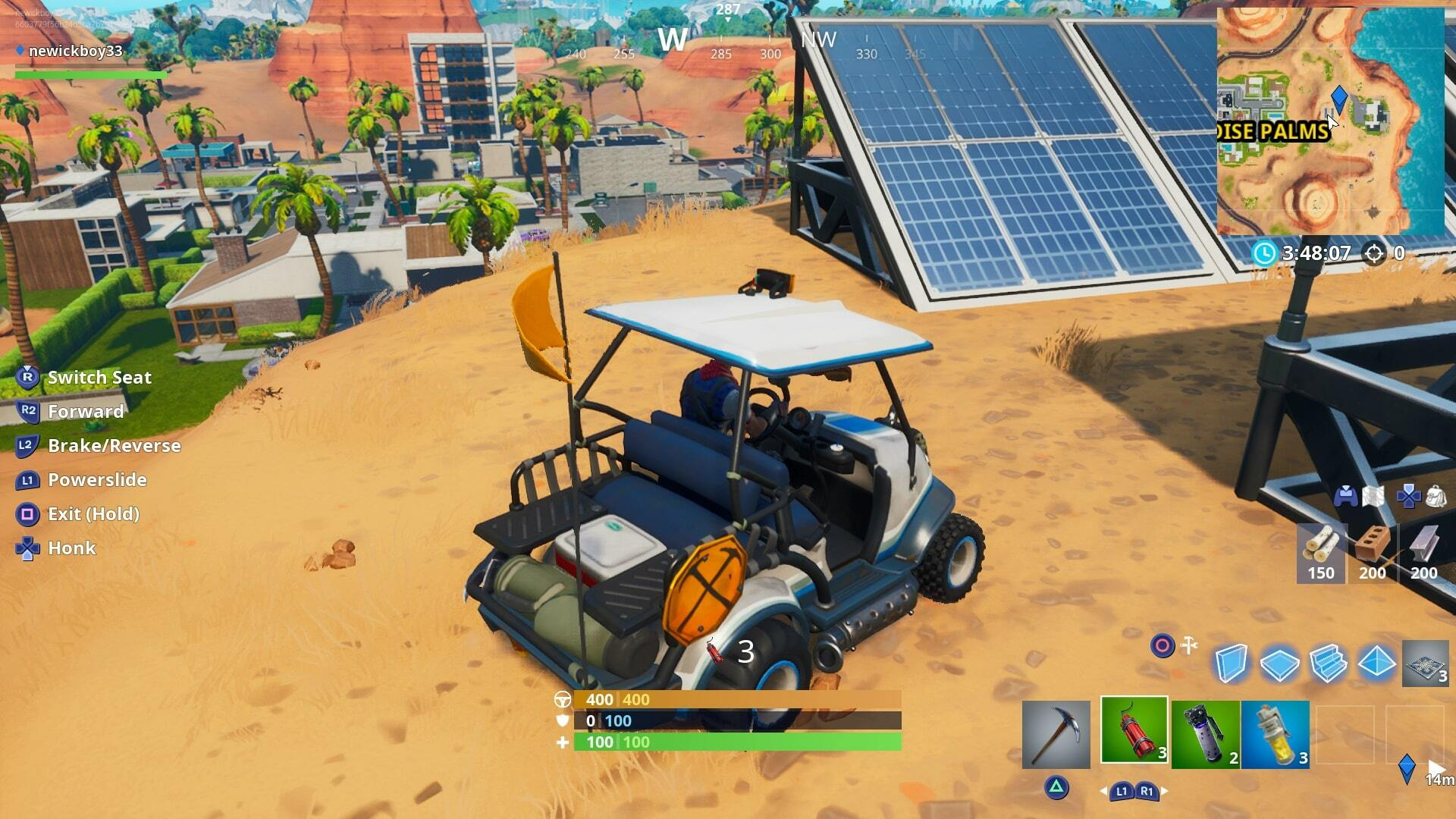 Fortnite Solar Array Locations - Visit a Solar Array in the Snow, Desert, and the Jungle