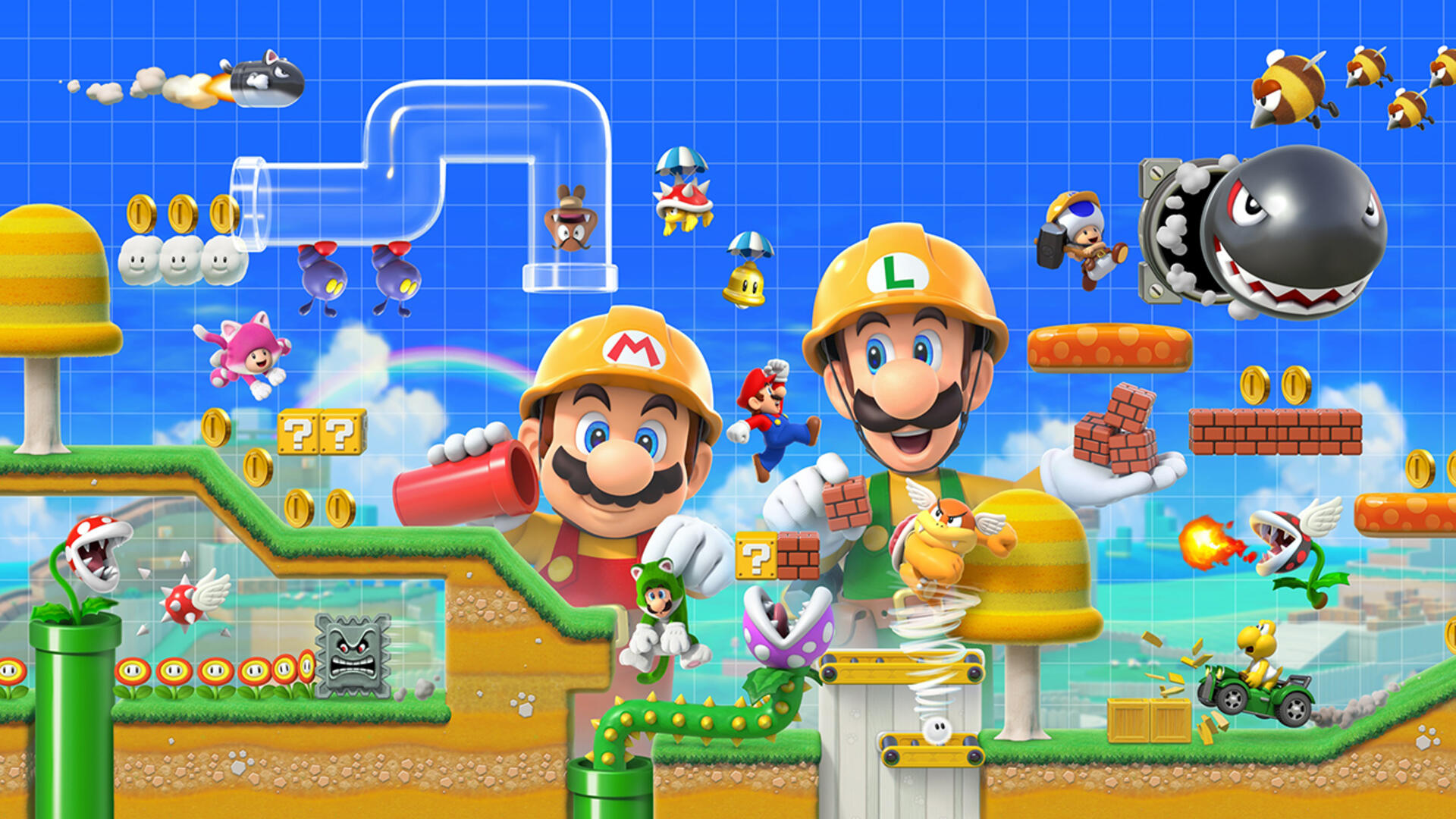 When and Where to Watch Today's Super Mario Maker 2 Nintendo Direct
