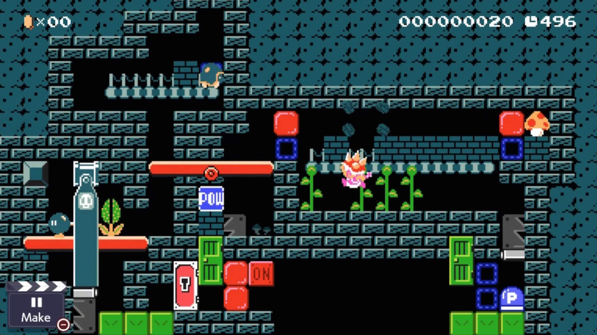 """The Creator of Mario Maker 2's """"Most Improbable"""" Level Knows His Cryptographic Creation is Bizarre"""