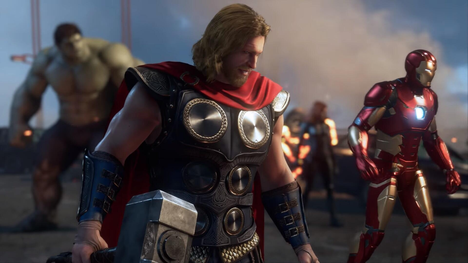 Check Out the Full 18 Minutes of Marvel's Avengers Gameplay
